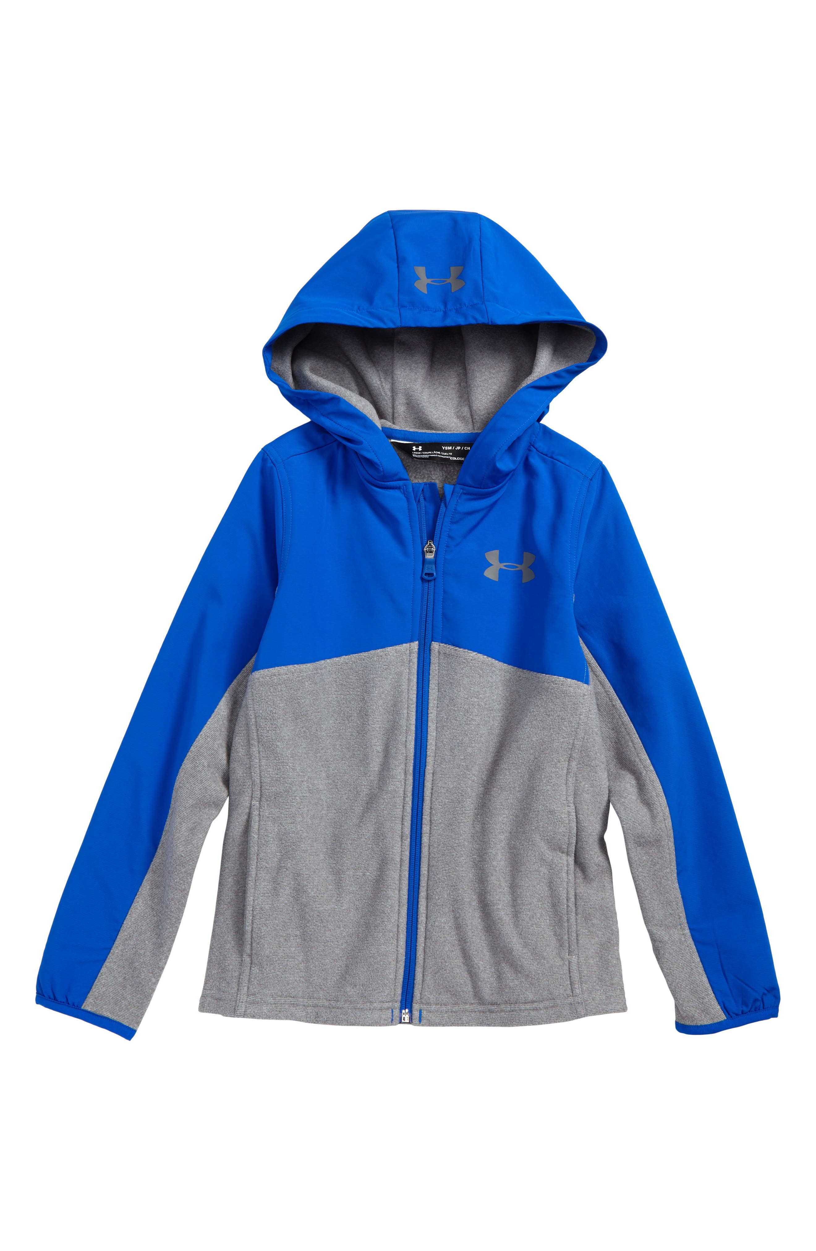 Under Armor Phenom ColdGear<sup>®</sup> Zip Hoodie,                             Main thumbnail 2, color,