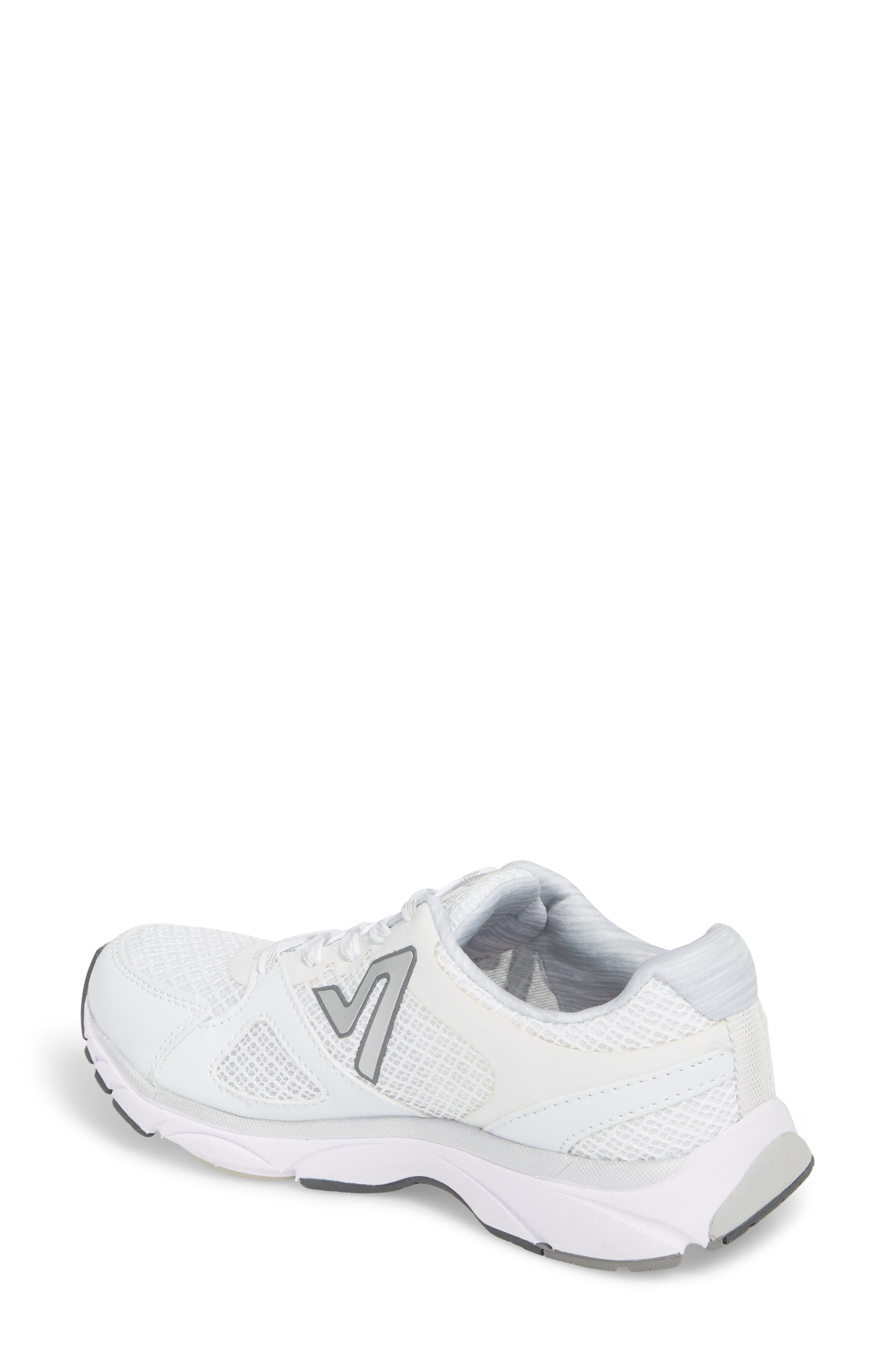 'Satima' Sneaker,                             Alternate thumbnail 2, color,                             WHITE FABRIC