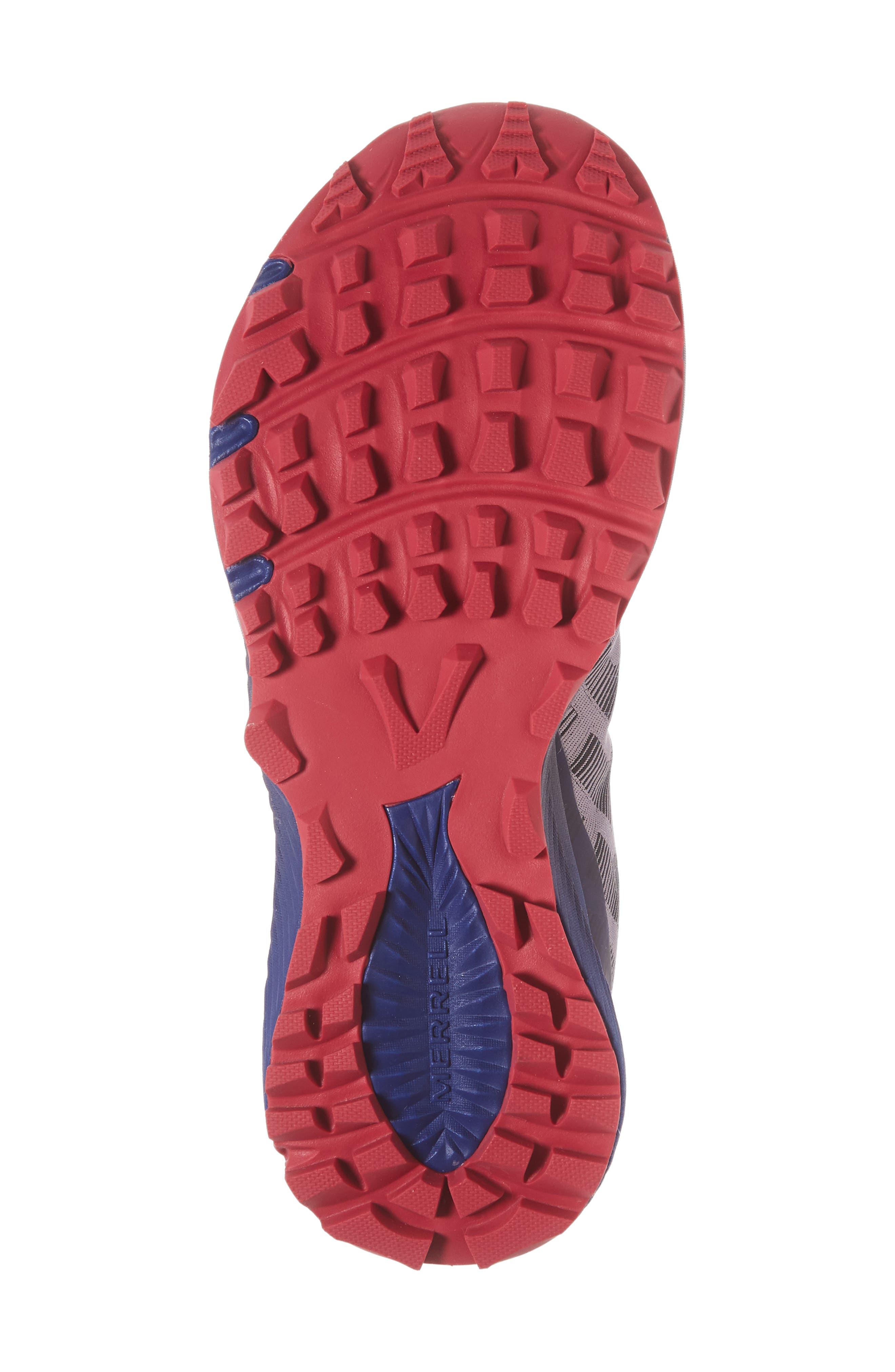 Agility Synthesis Flex Sneaker,                             Alternate thumbnail 6, color,                             SHARK FABRIC