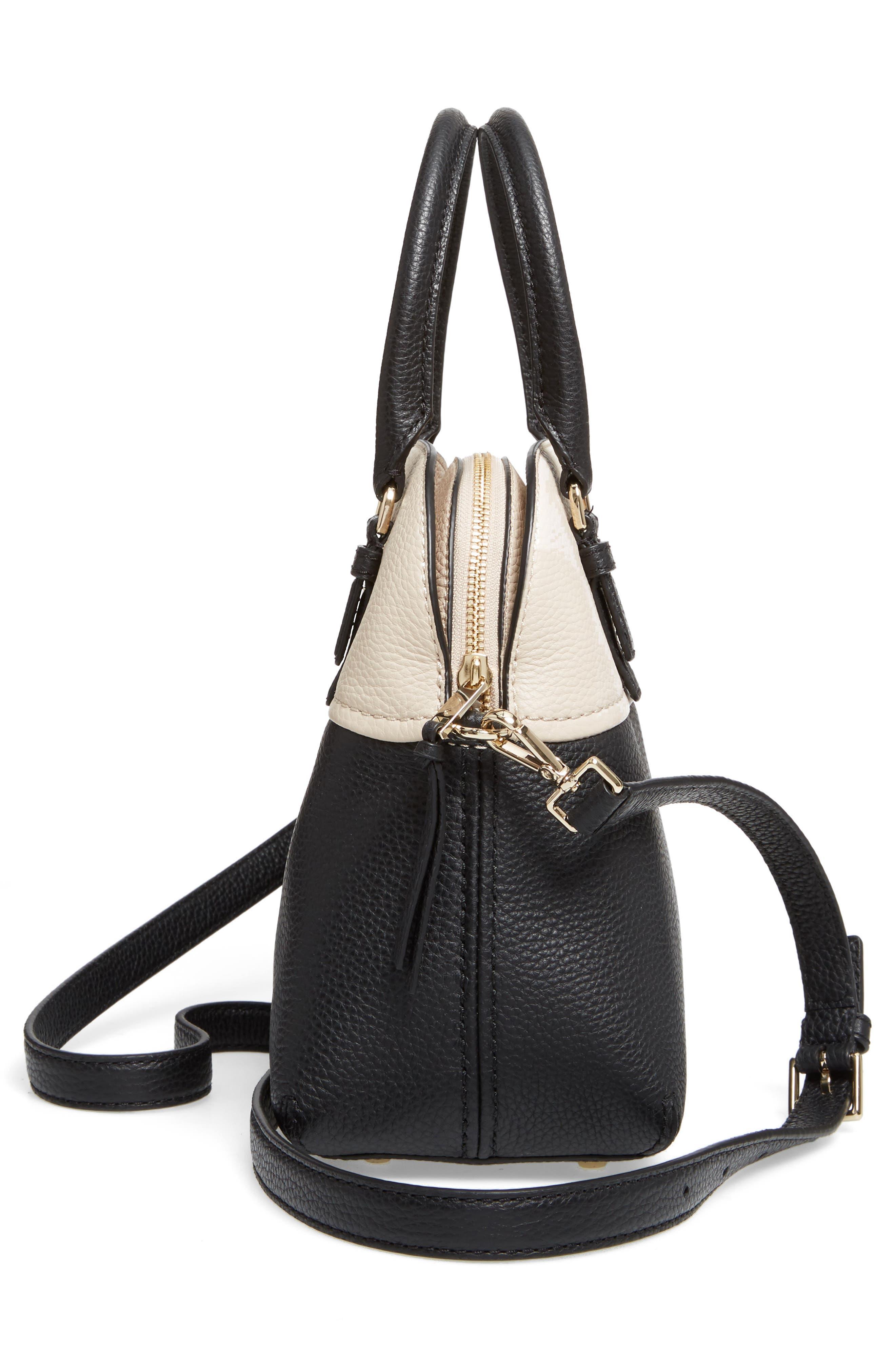 jackson street lottie leather satchel,                             Alternate thumbnail 14, color,
