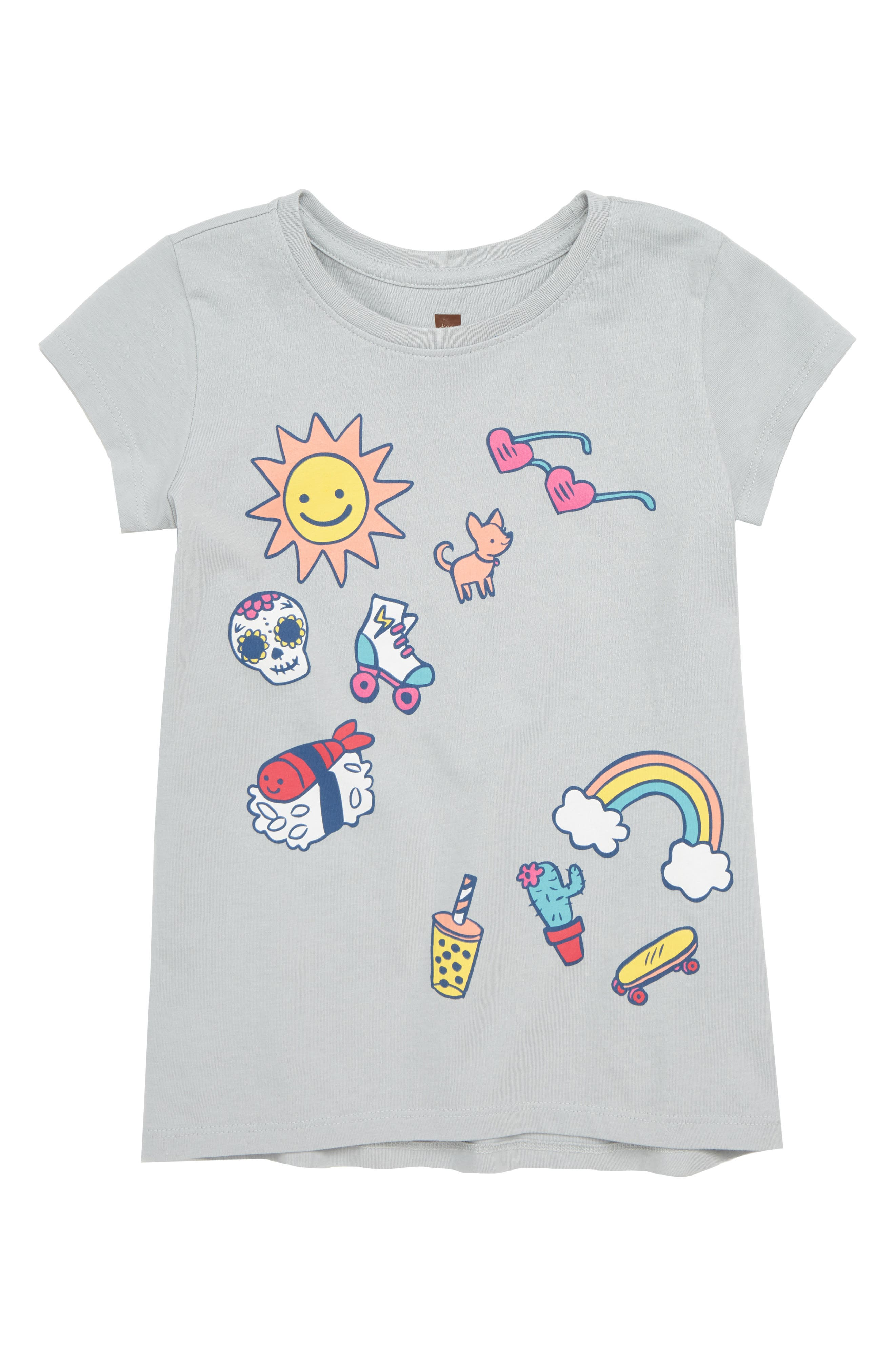 Collage Tee,                             Main thumbnail 1, color,                             035