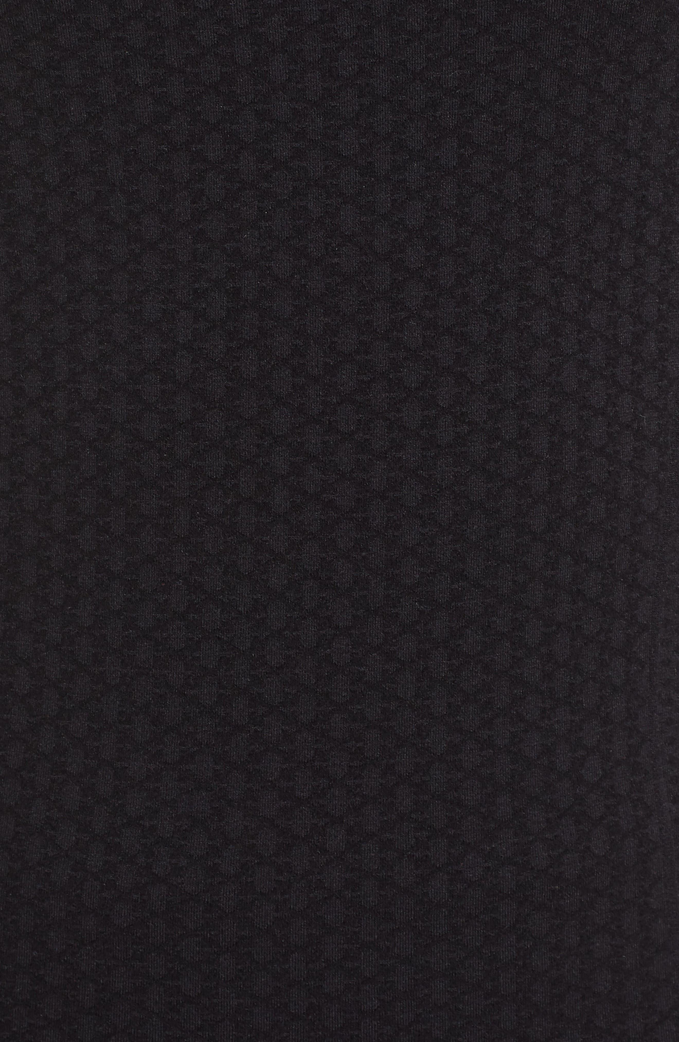 Jasper Quarter Zip Singlet,                             Alternate thumbnail 6, color,                             BLACK