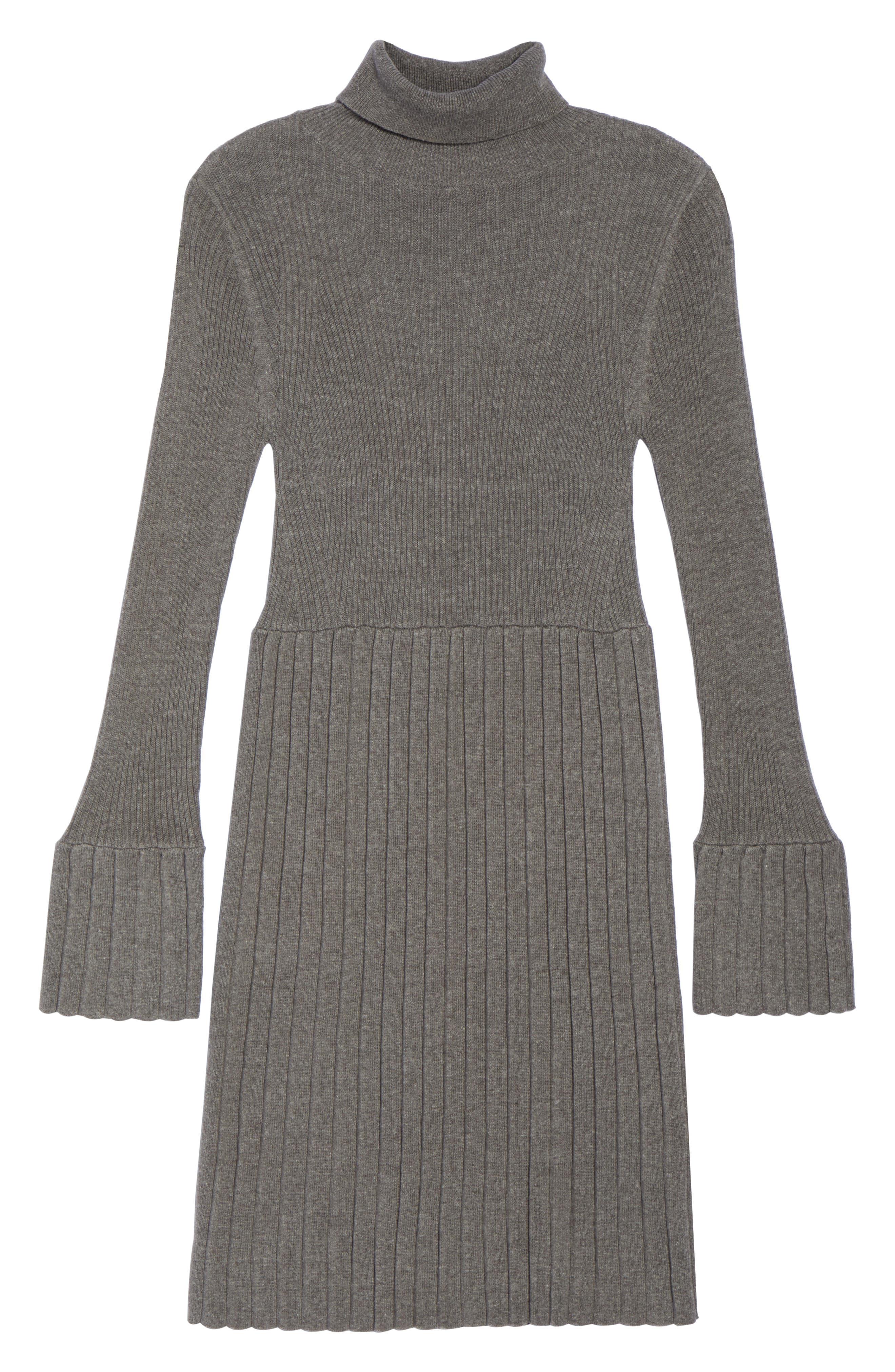Turtleneck Dress,                             Alternate thumbnail 6, color,                             096