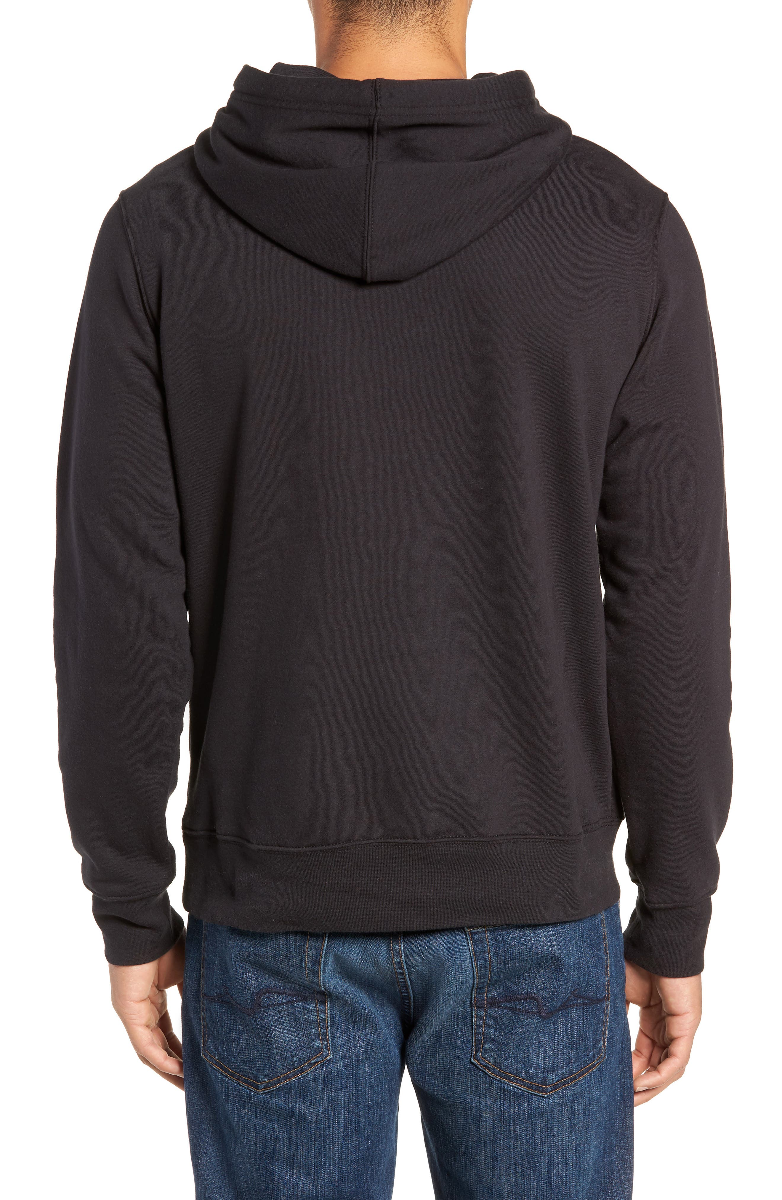 Holiday Half Dome Hooded Pullover,                             Alternate thumbnail 2, color,                             001