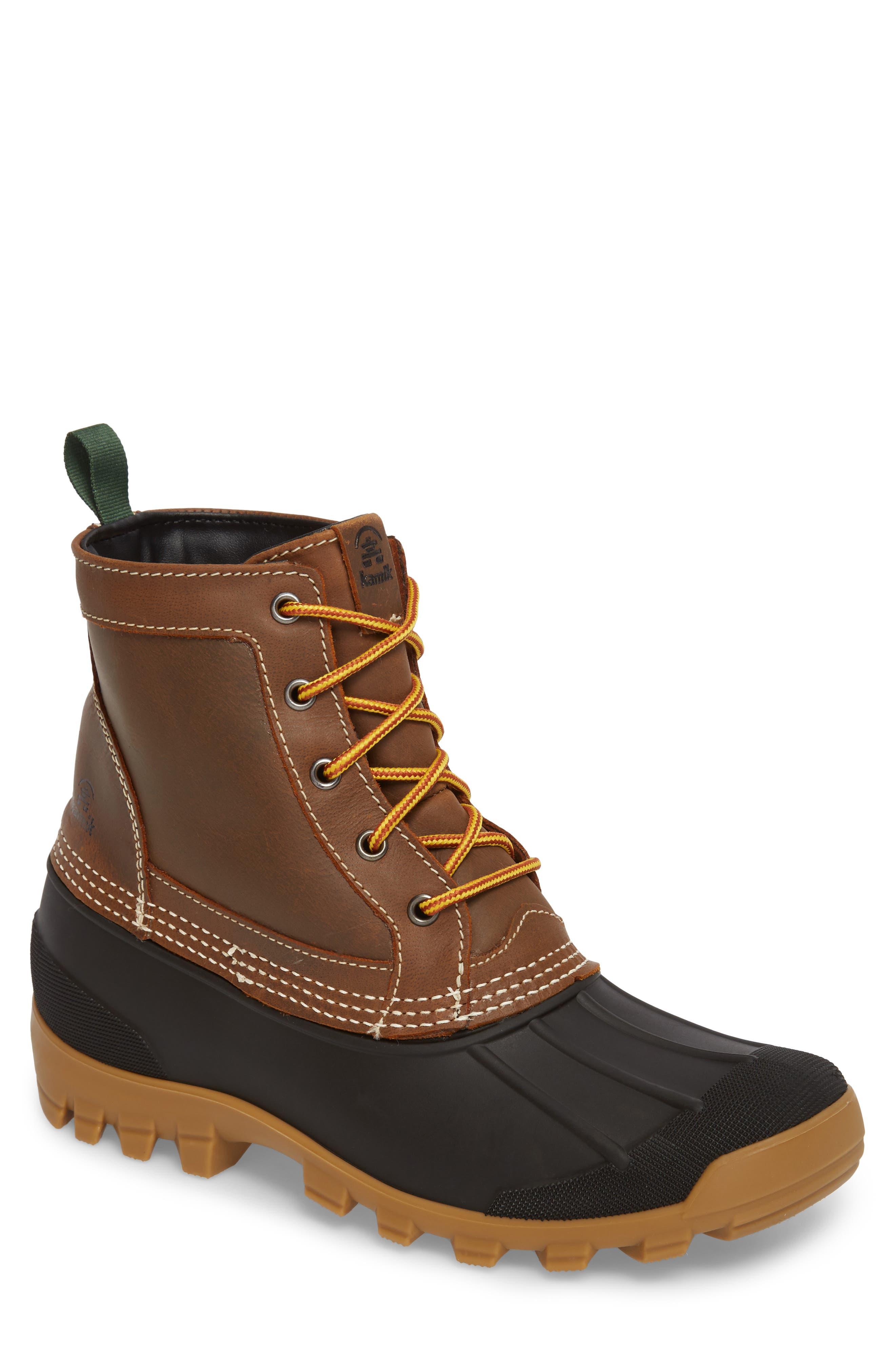 Yukon 5 Waterproof Insulated Three-Season Boot,                         Main,                         color, 201