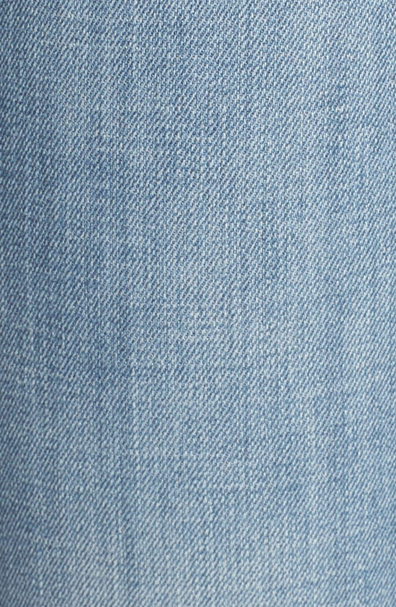 Jennie Runway Curvy Skinny Jeans,                             Alternate thumbnail 5, color,                             400