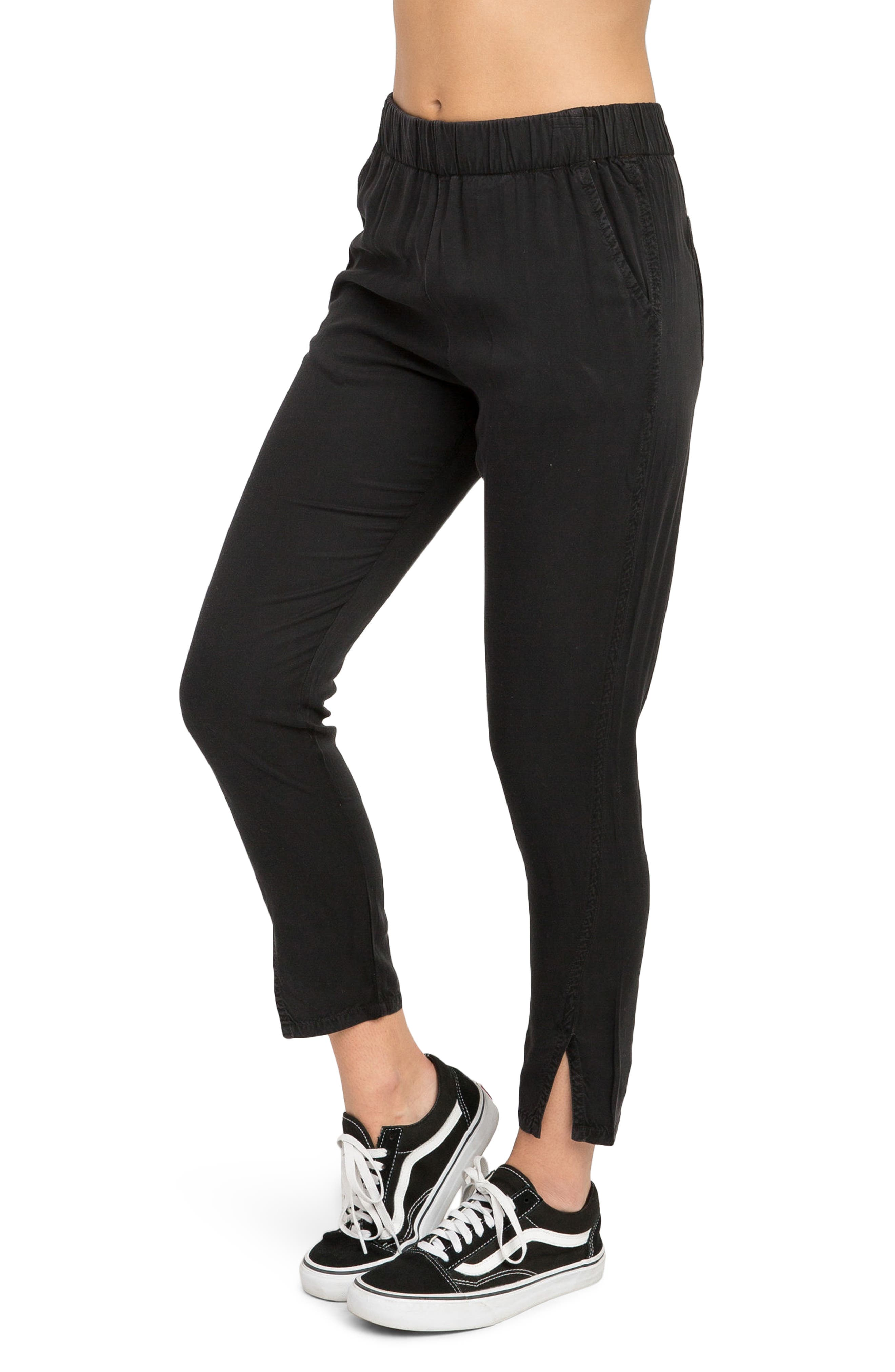 Chill Vibes Ankle Pants,                             Alternate thumbnail 3, color,                             001