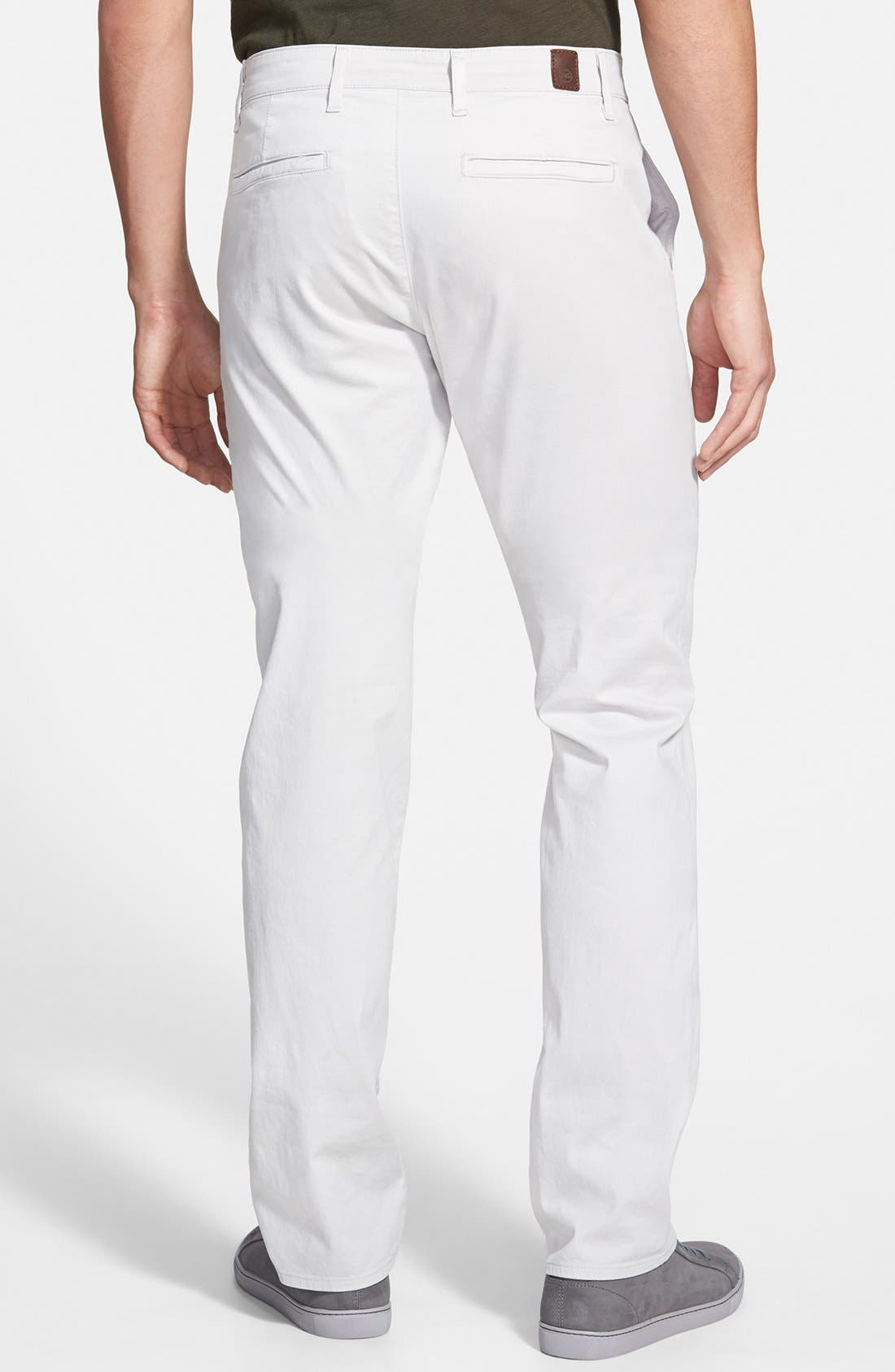 'The Lux' Tailored Straight Leg Chinos,                             Alternate thumbnail 2, color,                             060