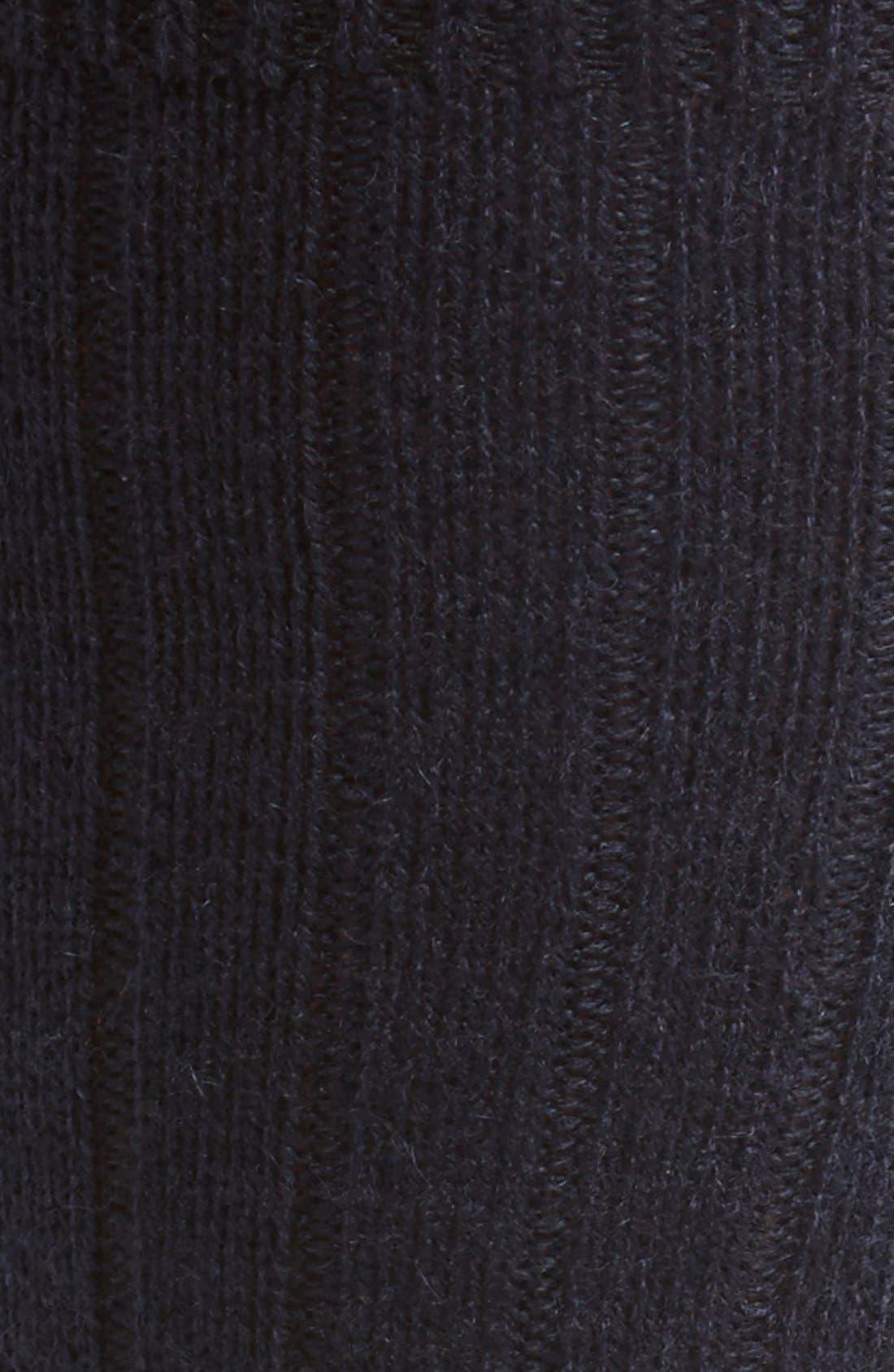 'Waddington' Cashmere Blend Mid Calf Socks,                             Alternate thumbnail 20, color,