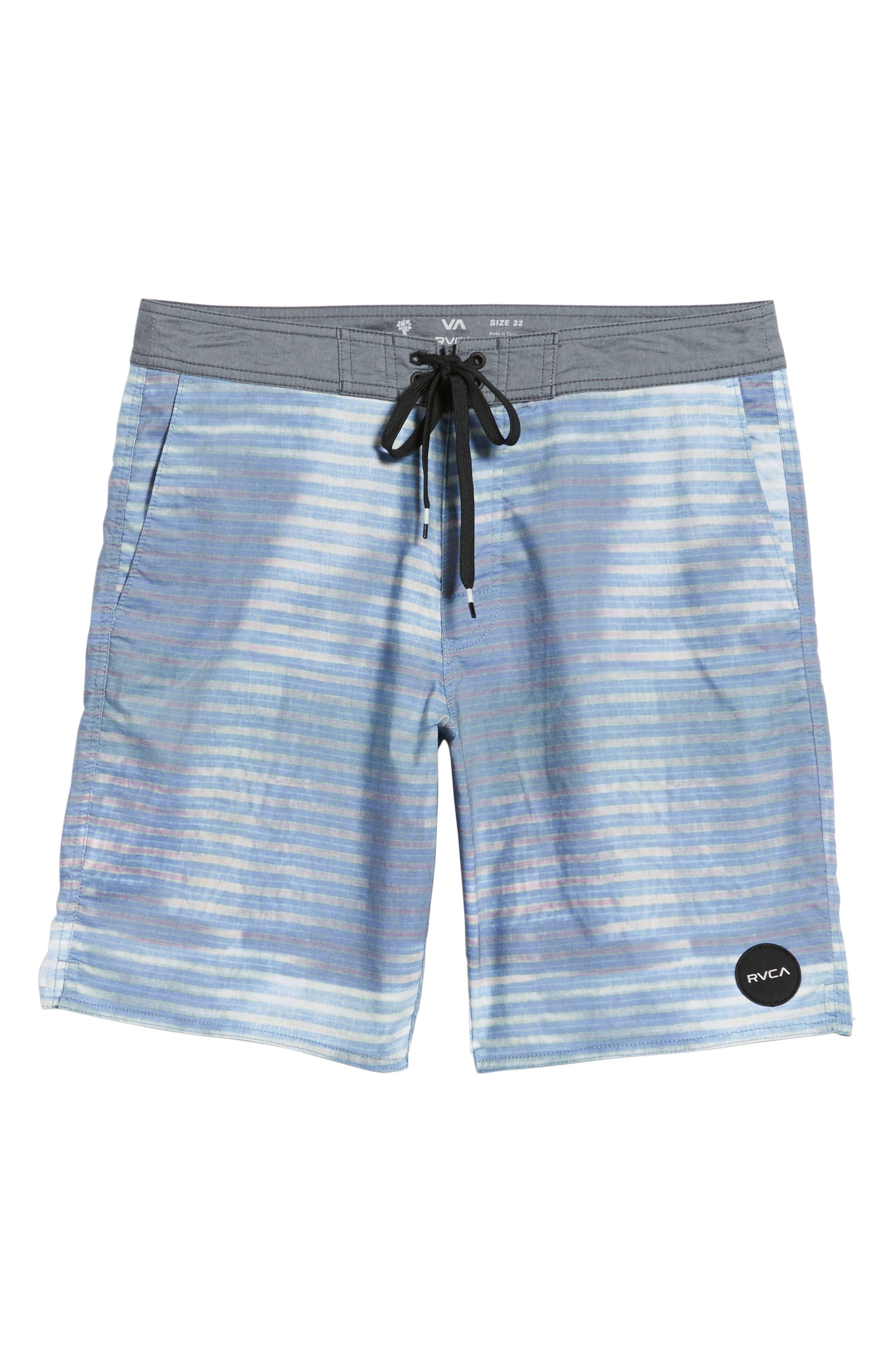 Boppa Stripe Swim Trunks,                             Alternate thumbnail 6, color,                             402