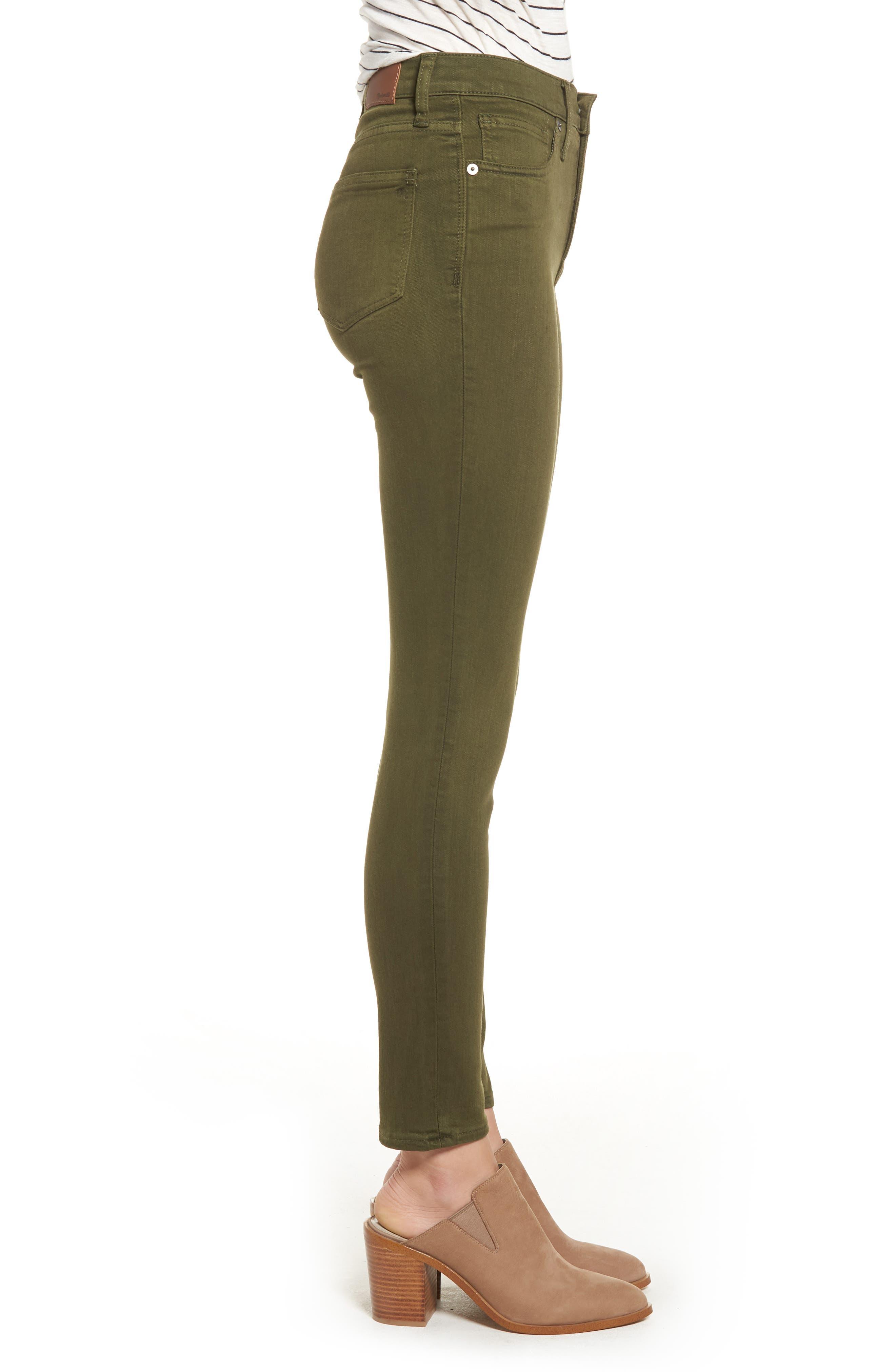 High Waist Skinny Jeans,                             Alternate thumbnail 3, color,                             300
