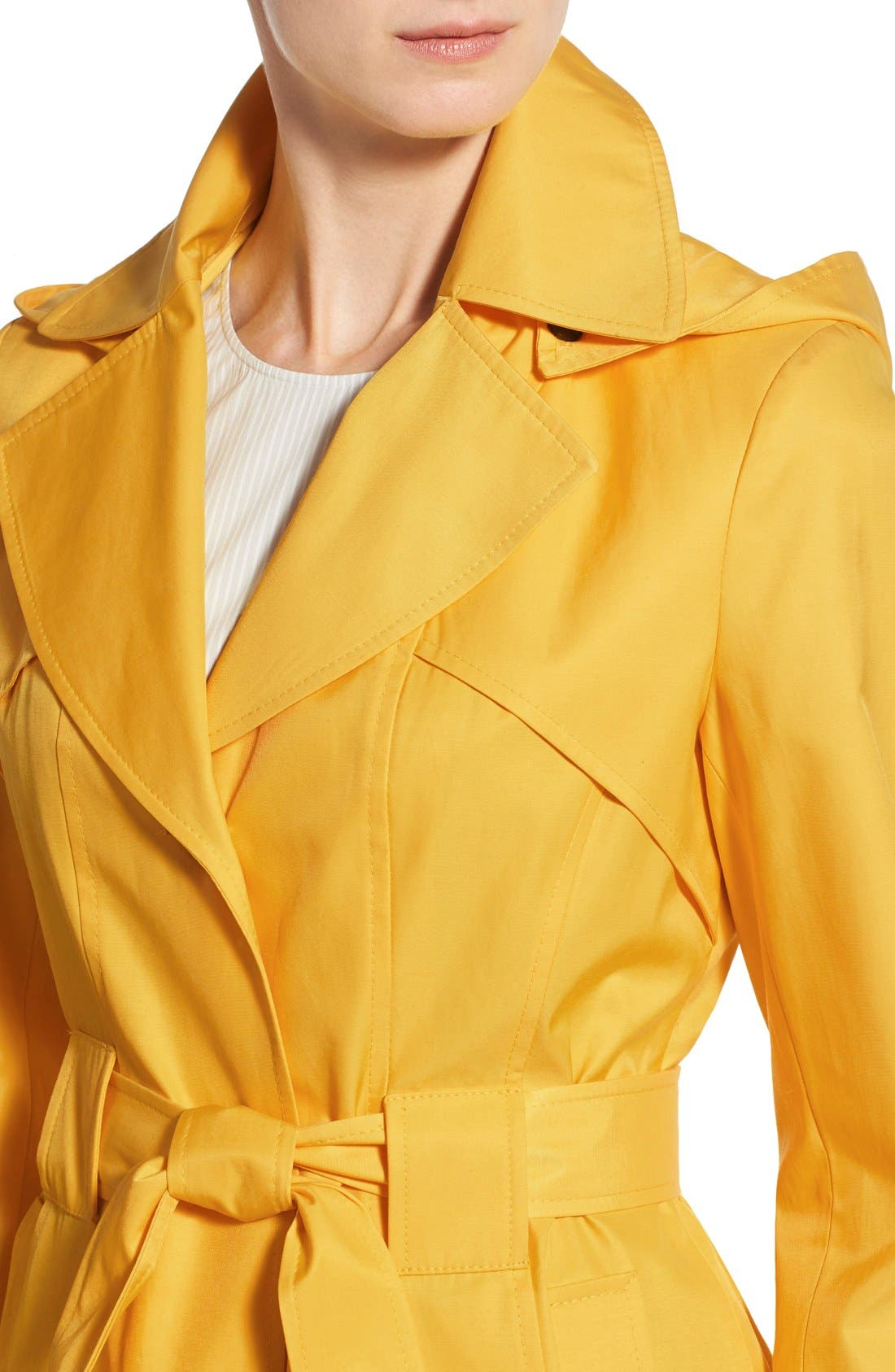 'Scarpa' Hooded Single Breasted Trench Coat,                             Alternate thumbnail 24, color,