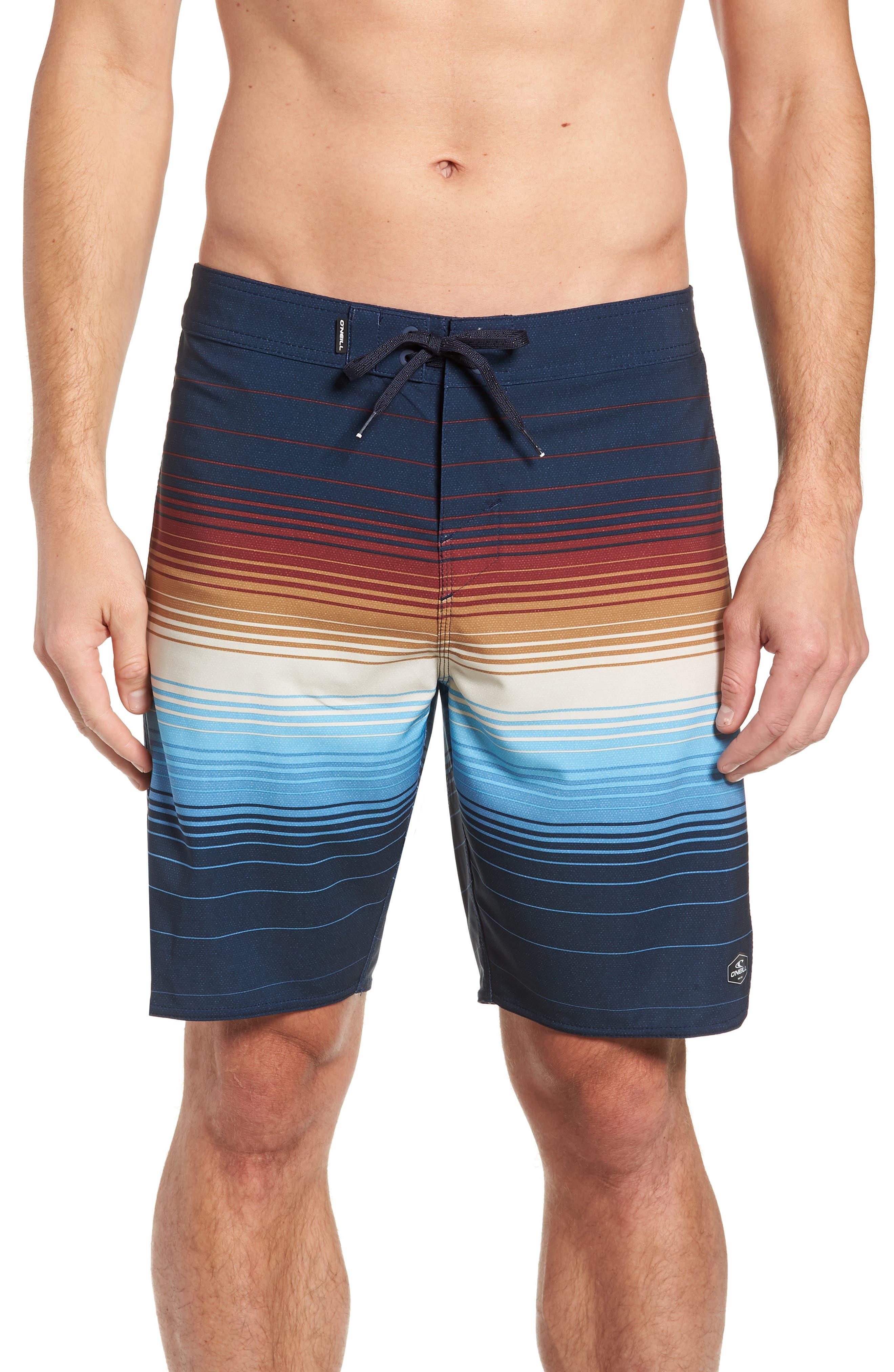 Superfreak Villa Board Shorts,                             Main thumbnail 1, color,                             NAVY