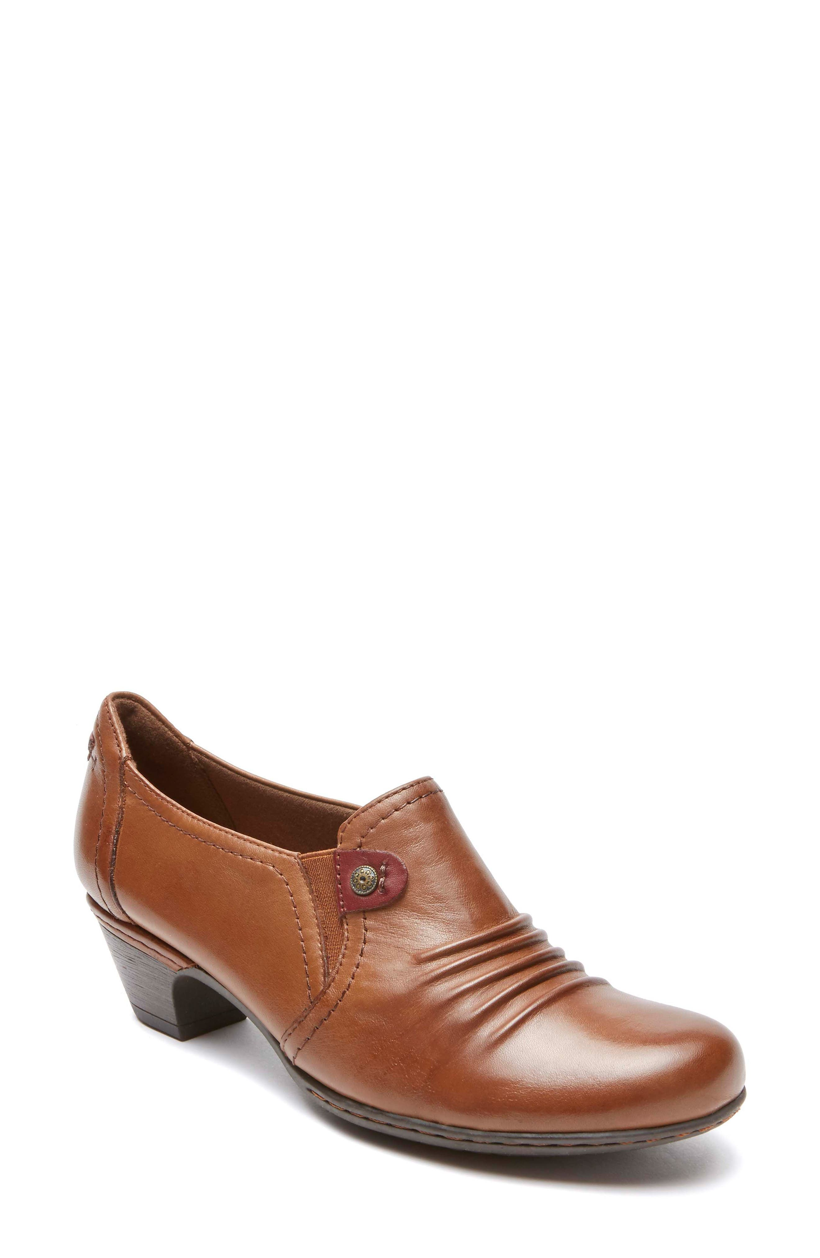 Adele Low Pump,                         Main,                         color, ALMOND LEATHER