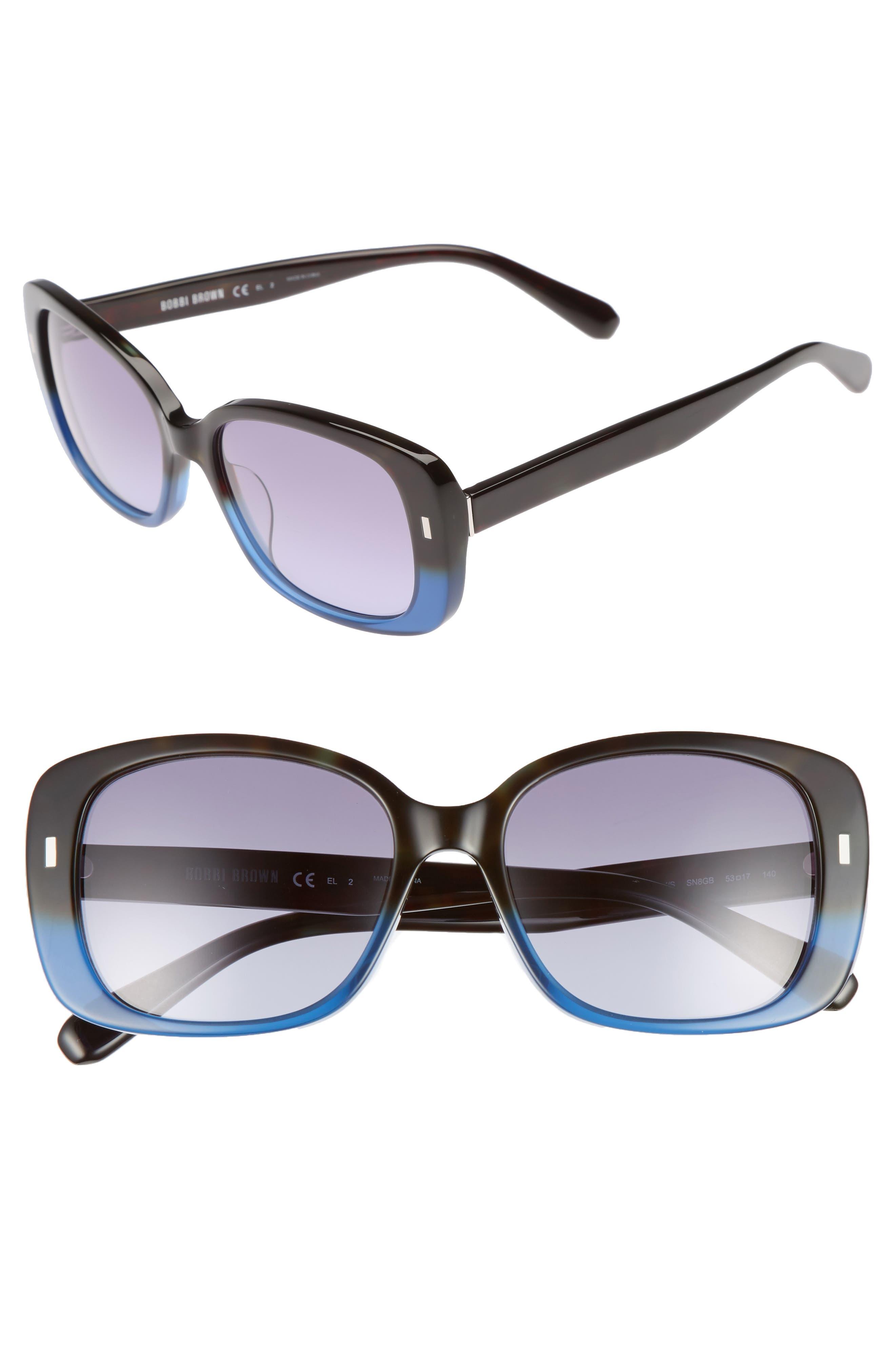 The Audrey 53mm Square Sunglasses,                             Main thumbnail 3, color,