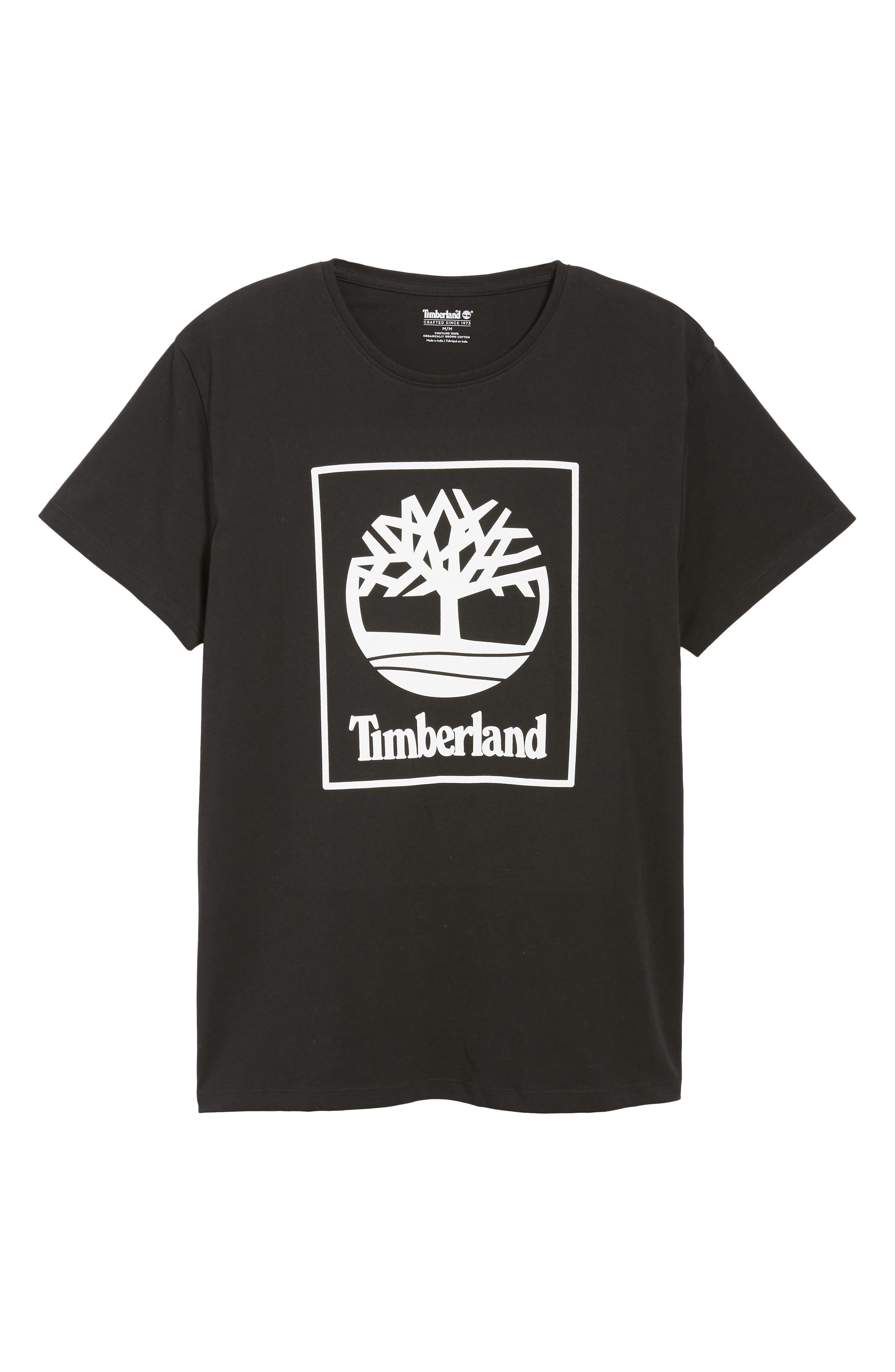 Core Logo T-Shirt,                             Alternate thumbnail 6, color,                             BLACK