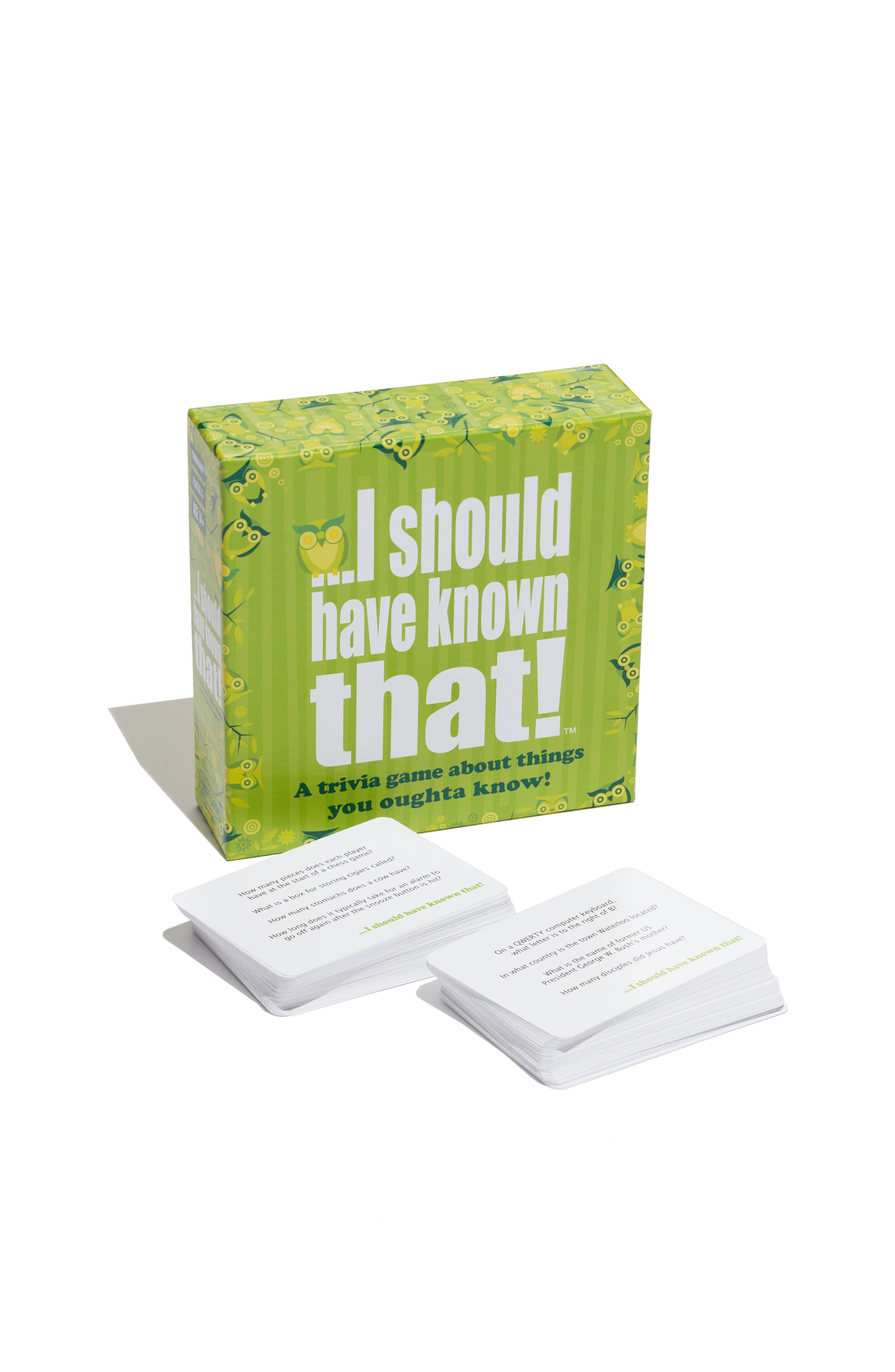 I Should Have Known That Party Trivia Card Game,                         Main,                         color, 960