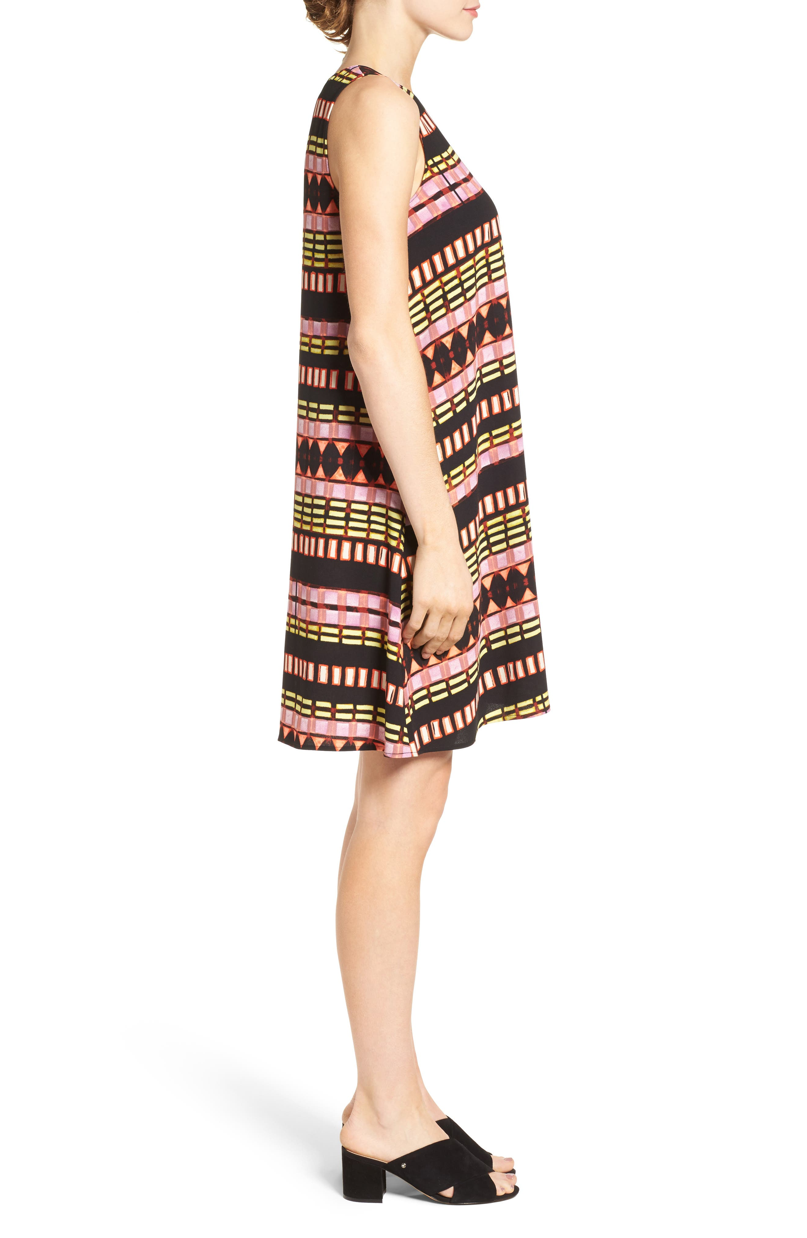 A-Line Dress,                             Alternate thumbnail 74, color,