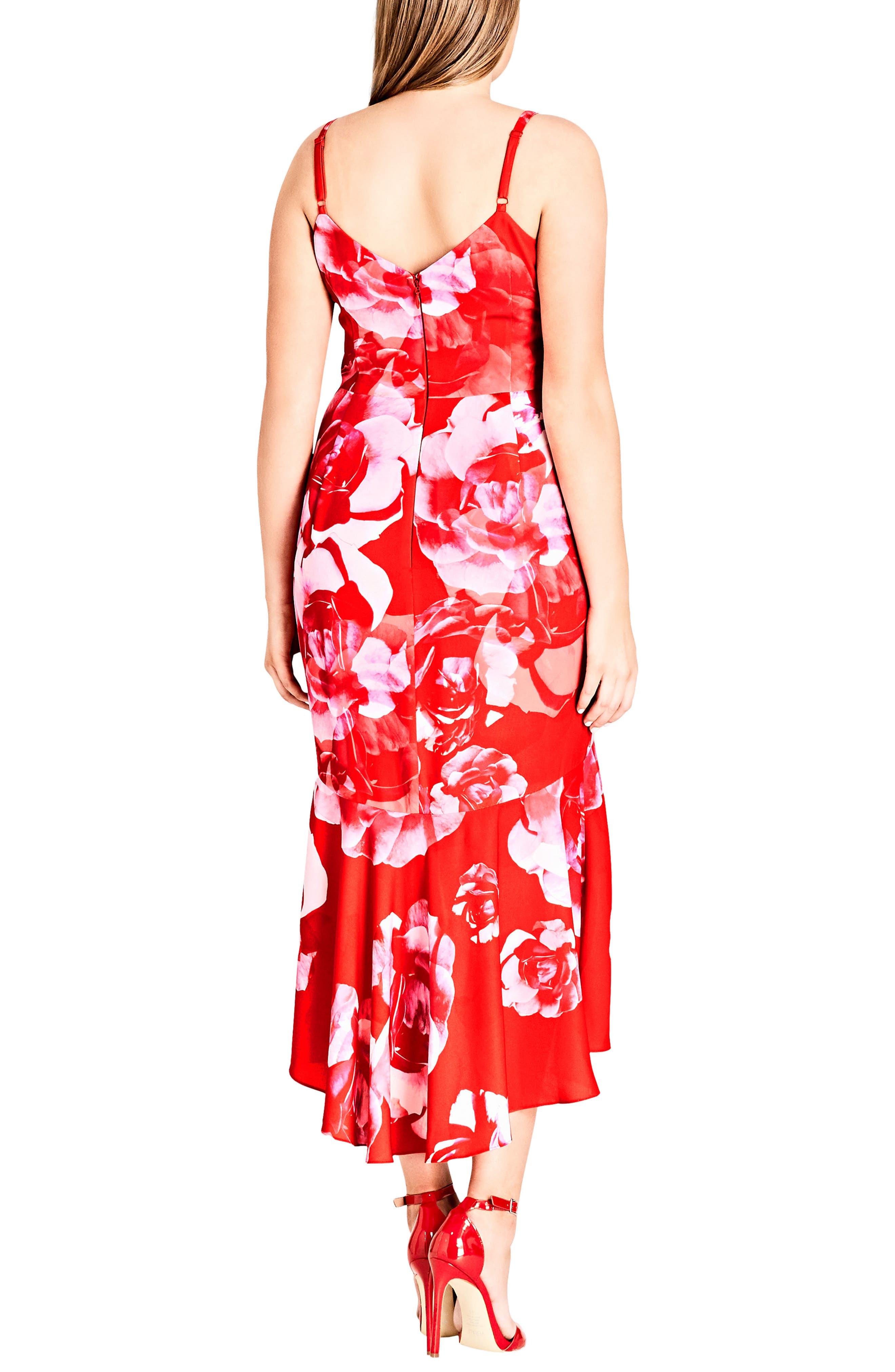 Tango Floral Dress,                             Alternate thumbnail 2, color,                             614