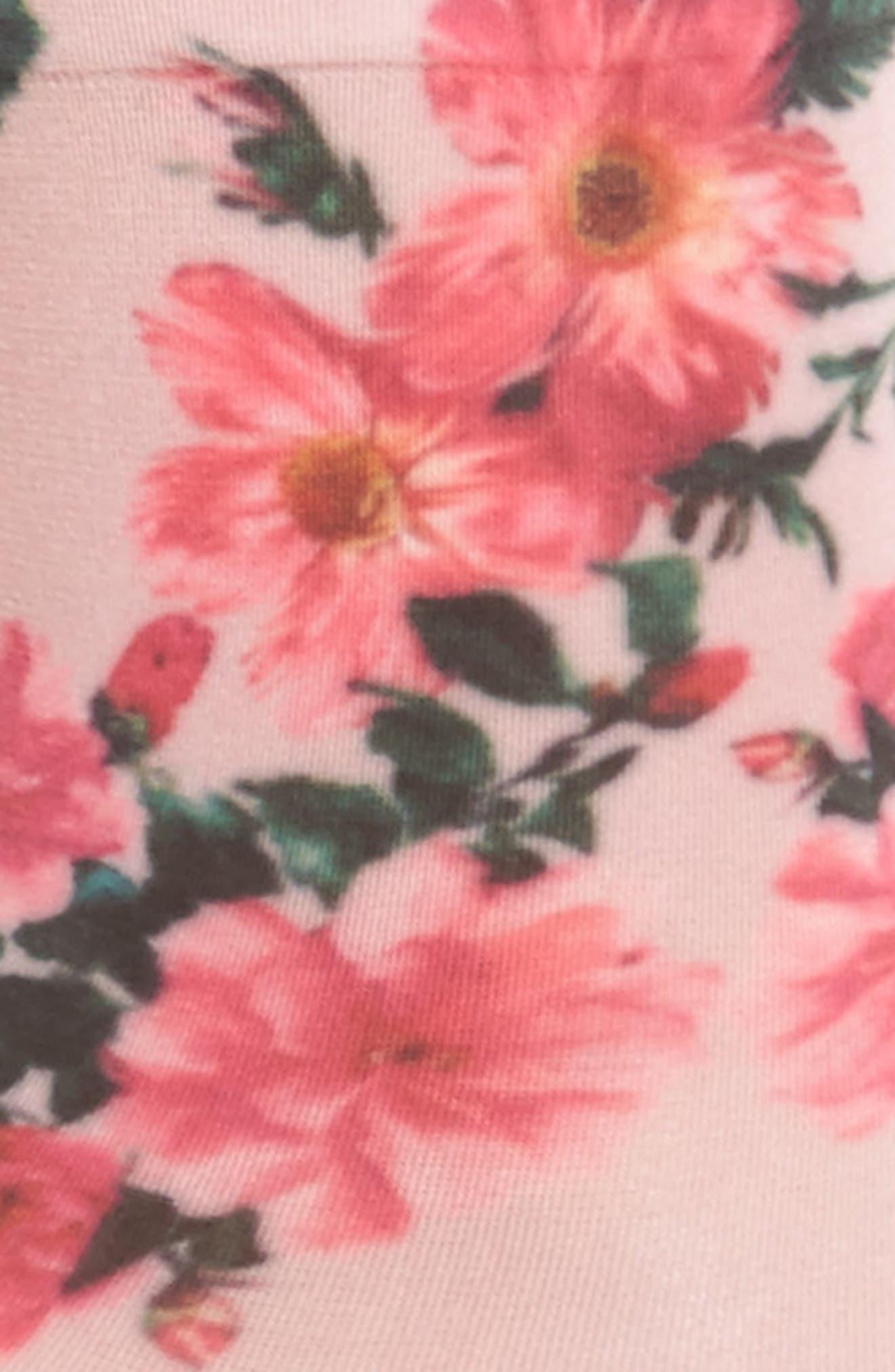 May Flowers Ankle Socks,                             Alternate thumbnail 2, color,                             650