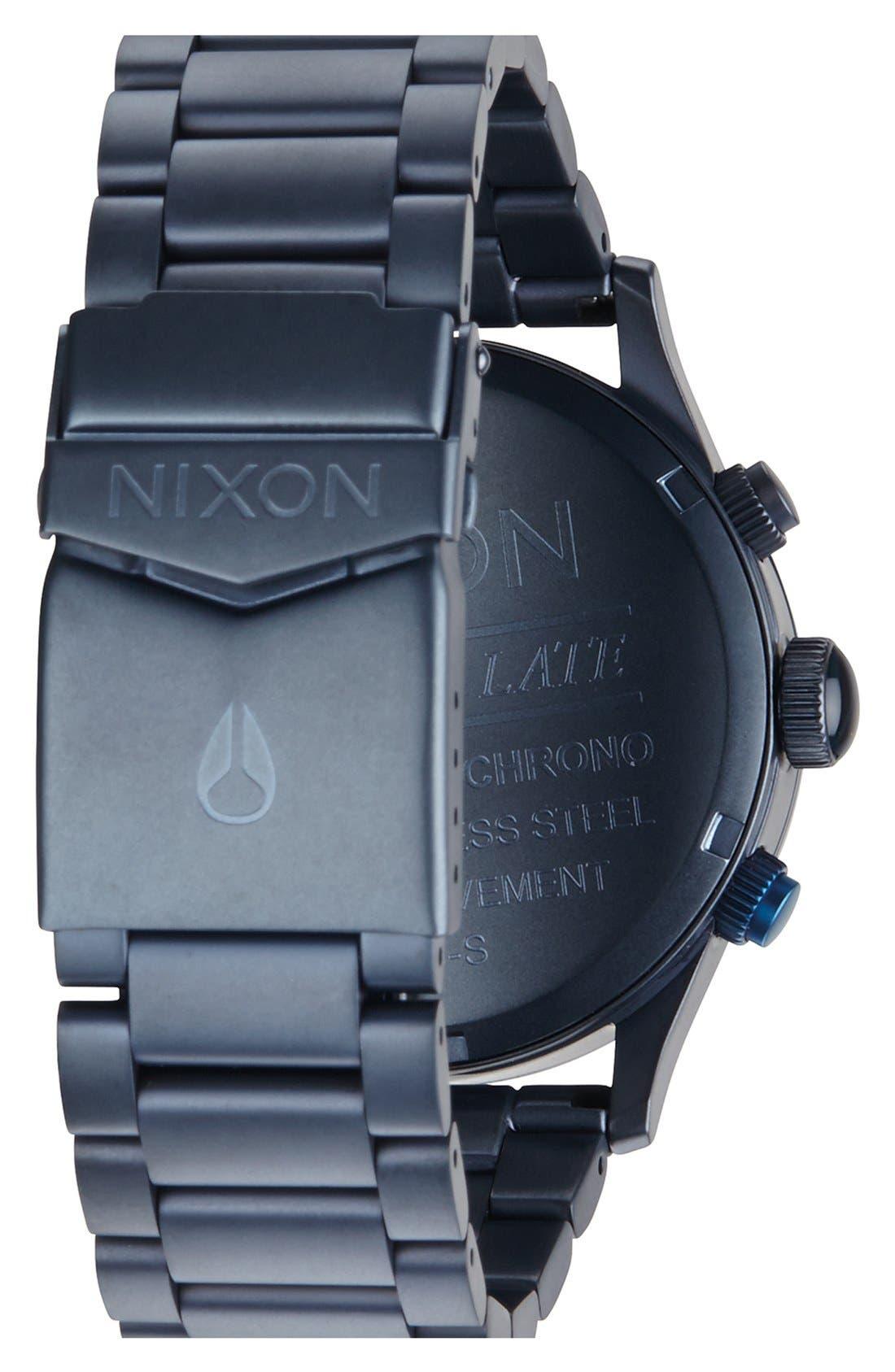 'The Sentry' Chronograph Bracelet Watch, 42mm,                             Alternate thumbnail 51, color,