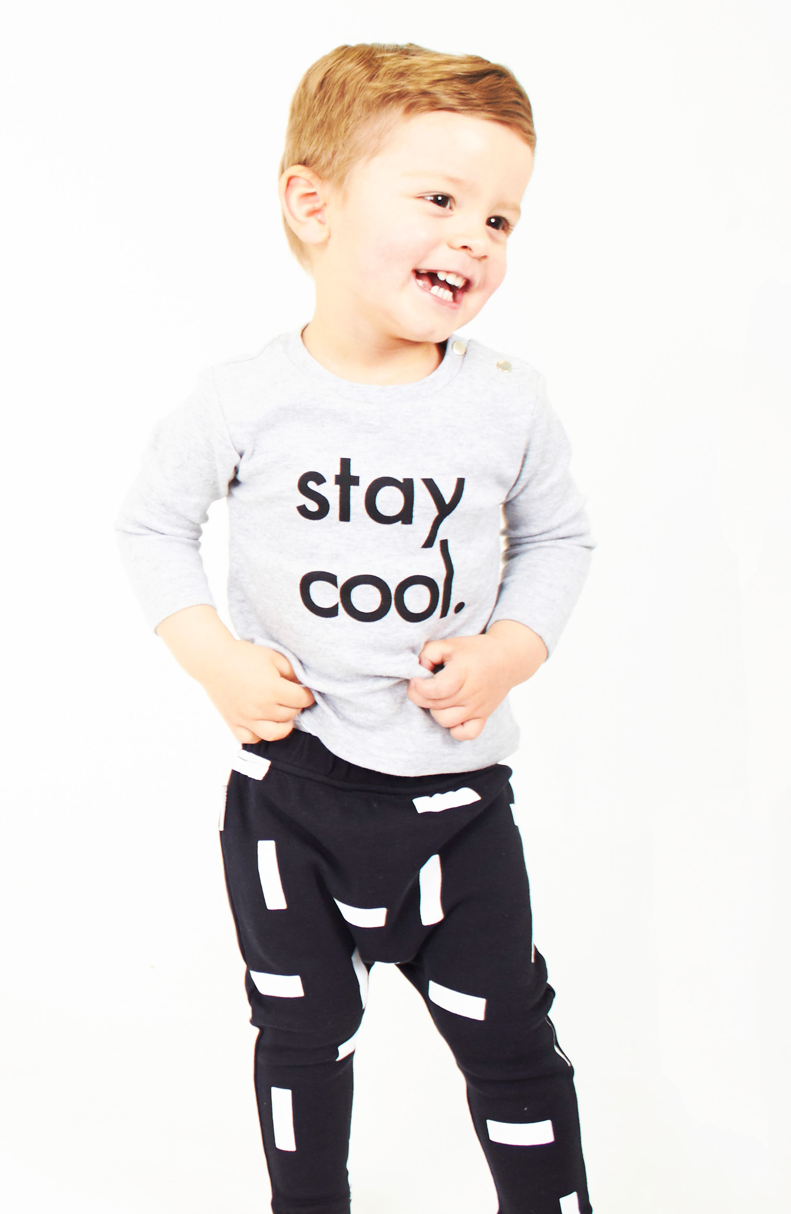 Stay Cool T-Shirt & Leggings Set,                             Alternate thumbnail 3, color,