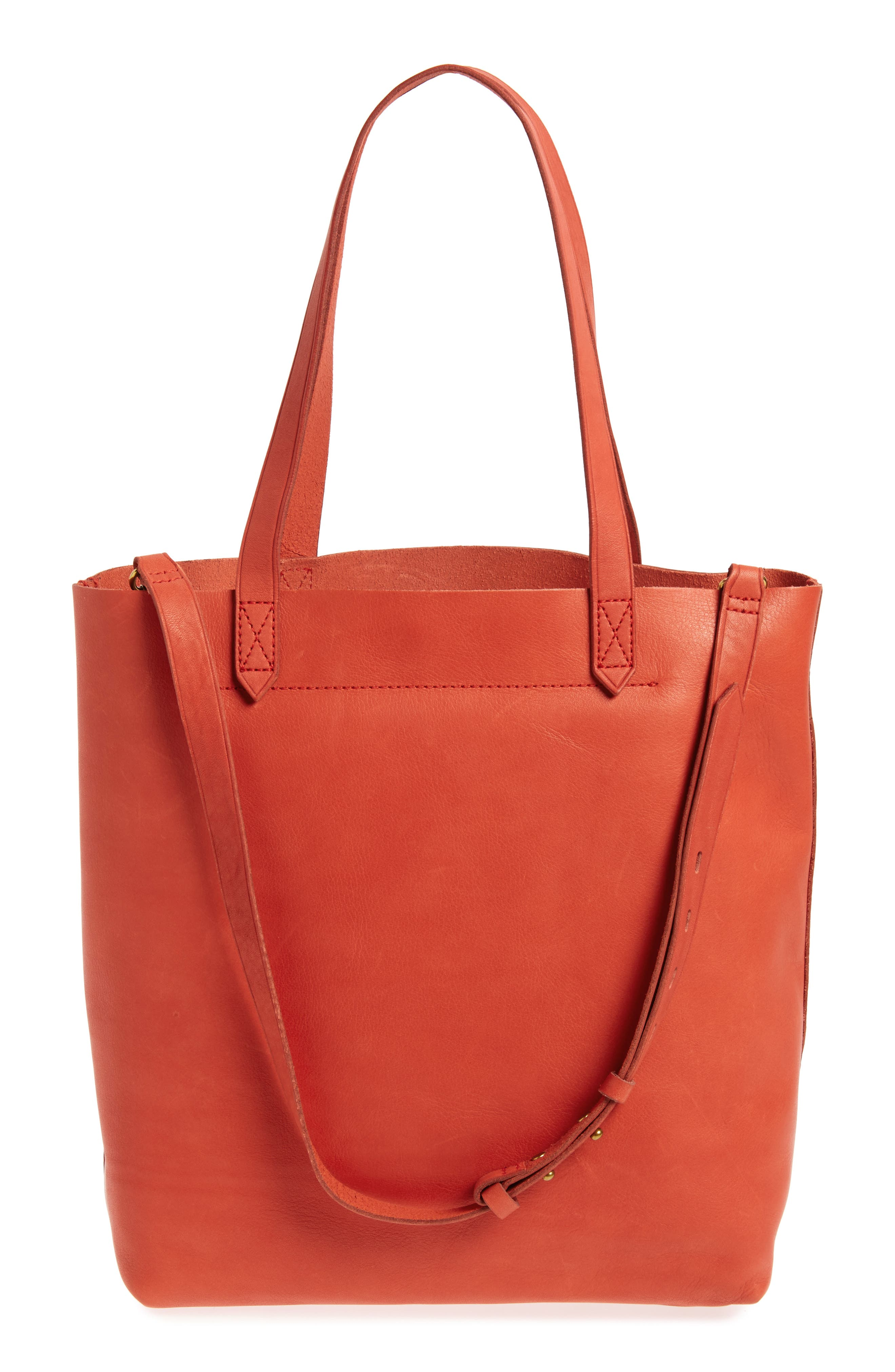 Medium Leather Transport Tote,                             Alternate thumbnail 38, color,