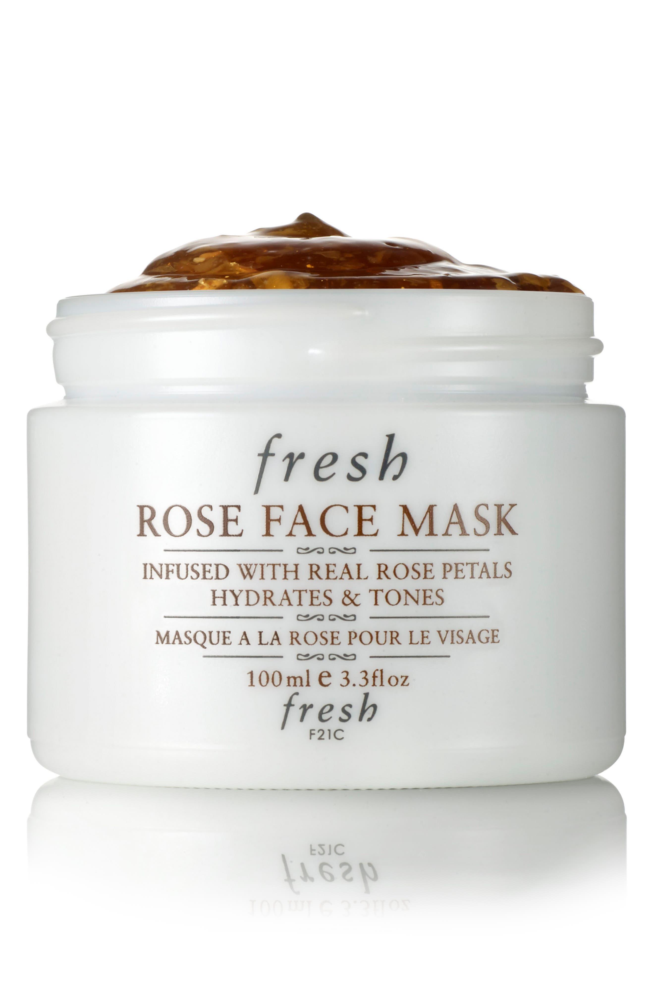 Rose Face Mask<sup>®</sup>,                         Main,                         color, NO COLOR
