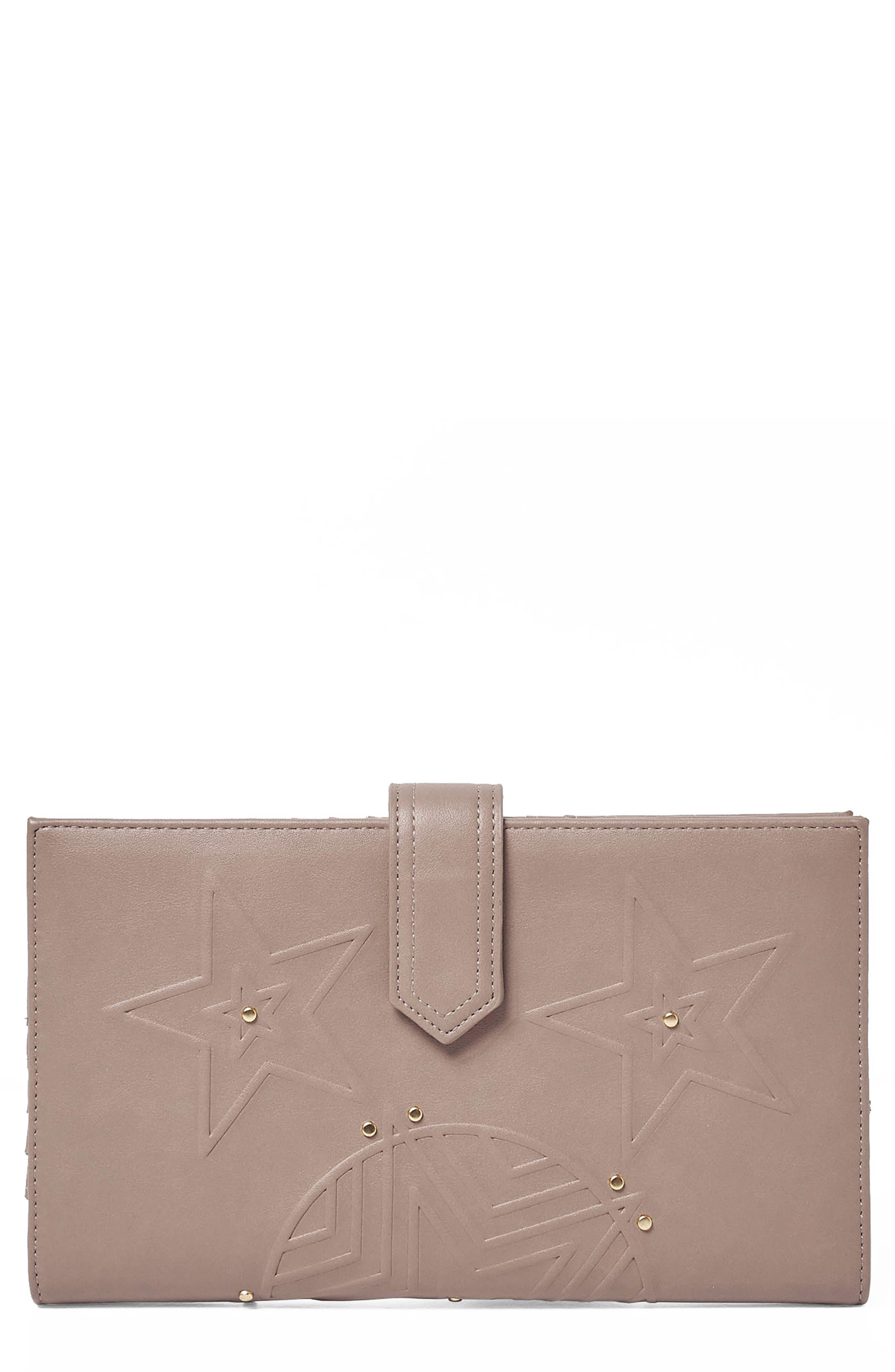 Starstruck Vegan Leather Wallet,                             Main thumbnail 2, color,