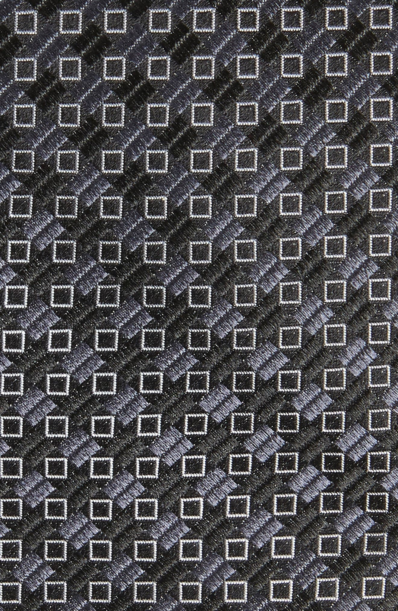 Middletown Geometric Silk Tie,                             Alternate thumbnail 2, color,                             001