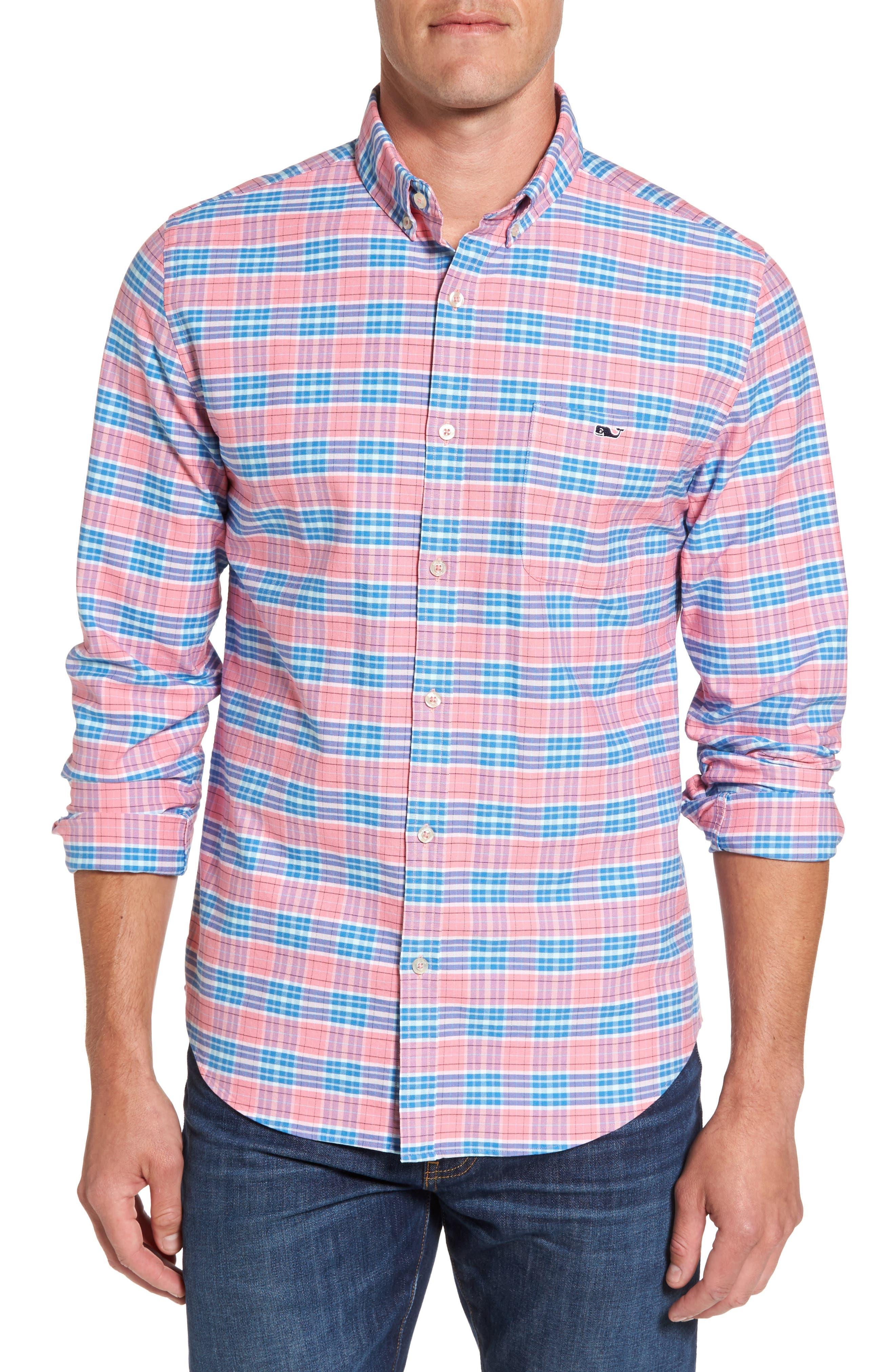 Island Reach Slim Fit Tucker Sport Shirt,                         Main,                         color,