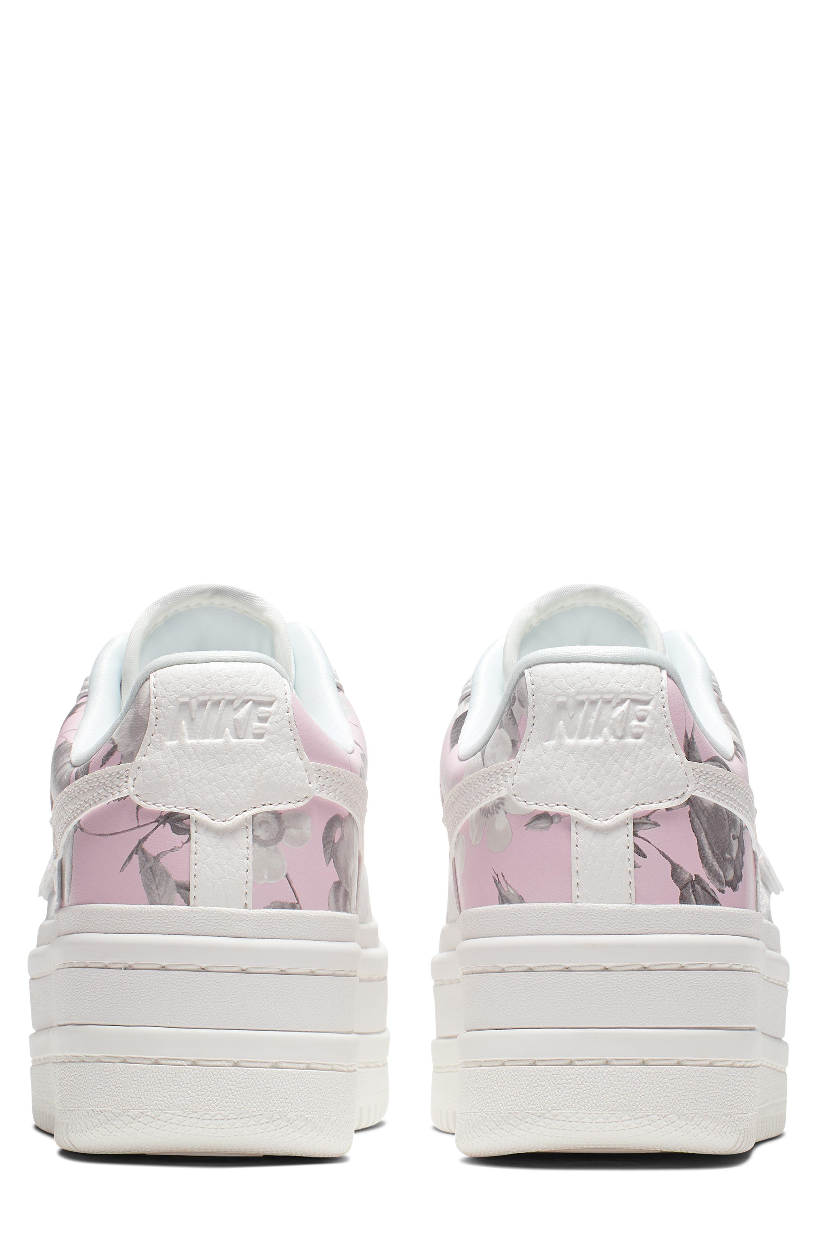 NIKE,                             Vandal 2K LX Platform Sneaker,                             Alternate thumbnail 2, color,                             WHITE/ WHITE/ BLACK