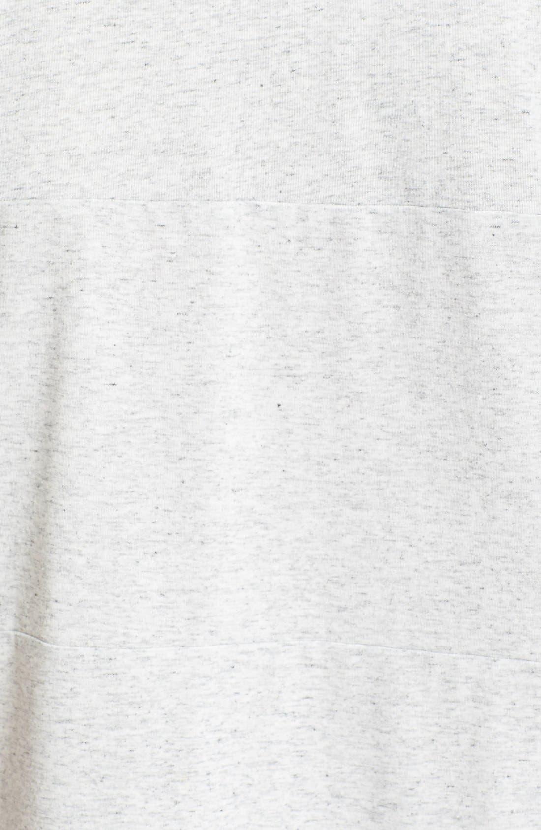 Cotton Blend T-Shirt,                             Alternate thumbnail 2, color,                             100