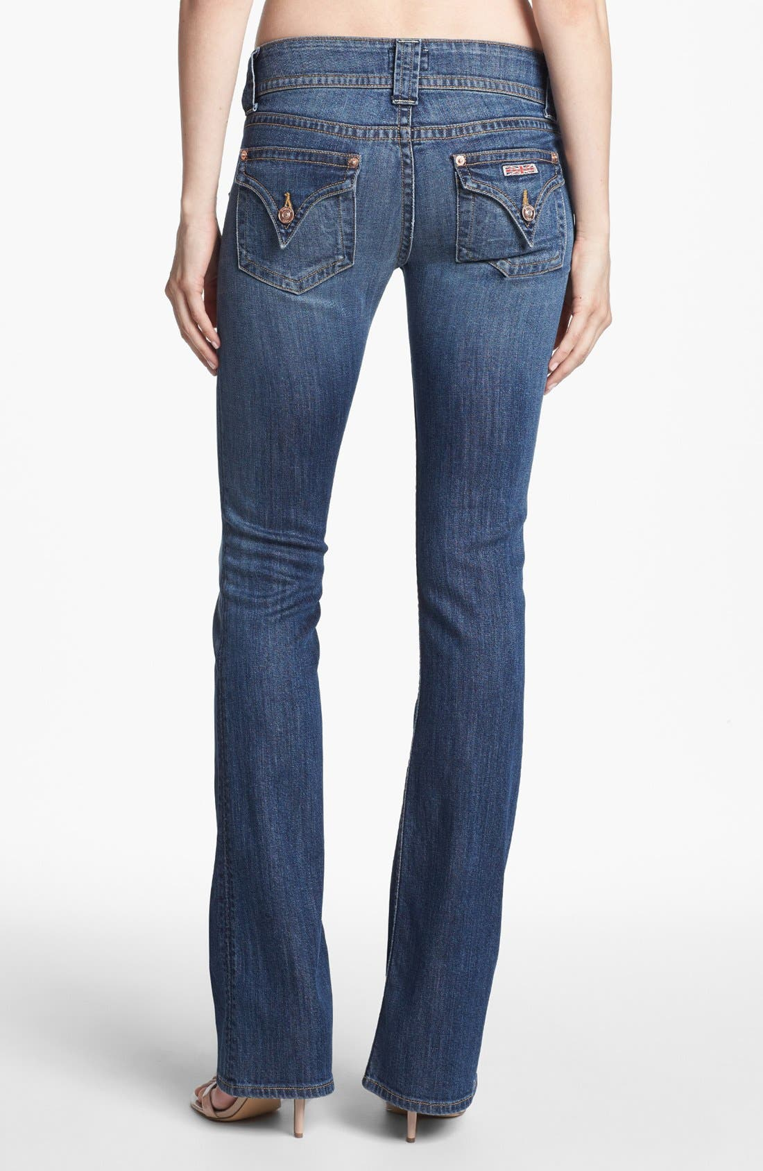 Signature Bootcut Jeans,                             Alternate thumbnail 2, color,                             HACKNEY