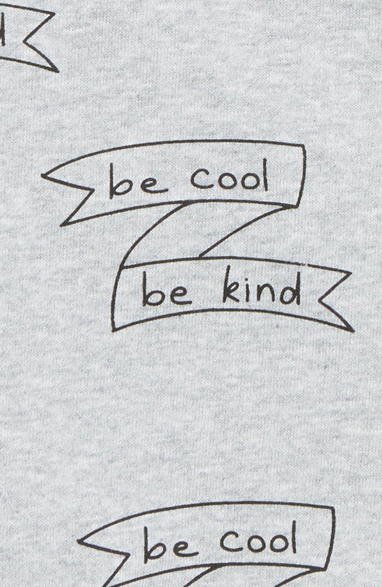 Be Cool Sweatshirt,                             Alternate thumbnail 2, color,                             GREY MARLE