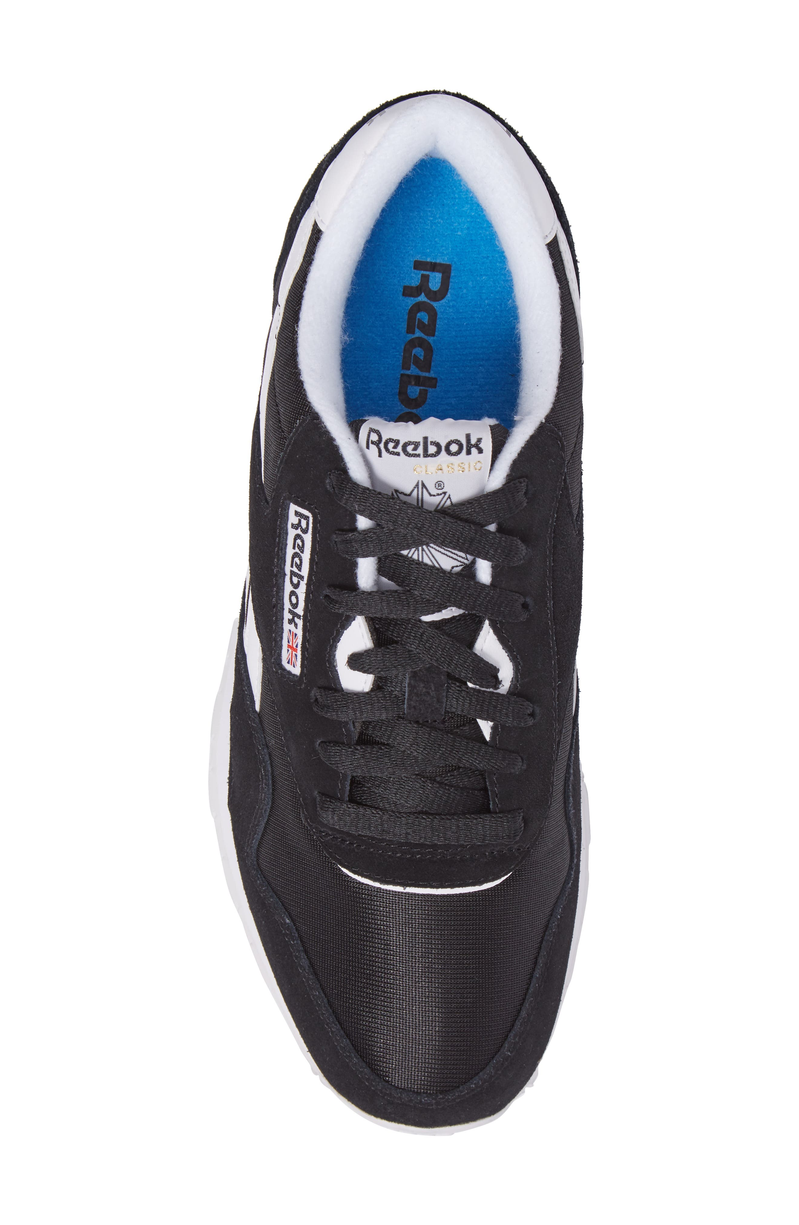 Classic Nylon Sneaker,                             Alternate thumbnail 5, color,                             001