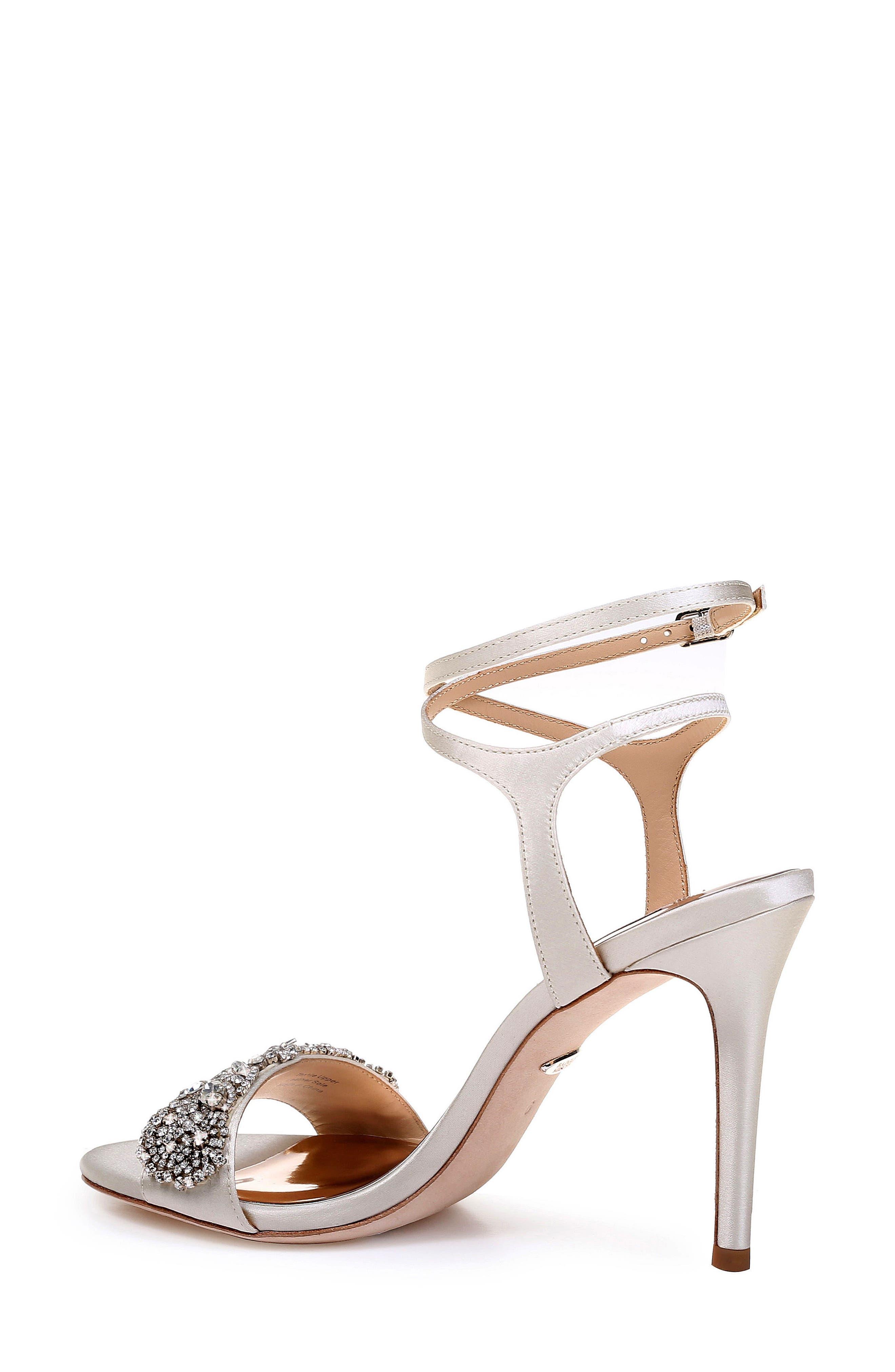 Hailey Embellished Ankle Strap Sandal,                             Alternate thumbnail 9, color,