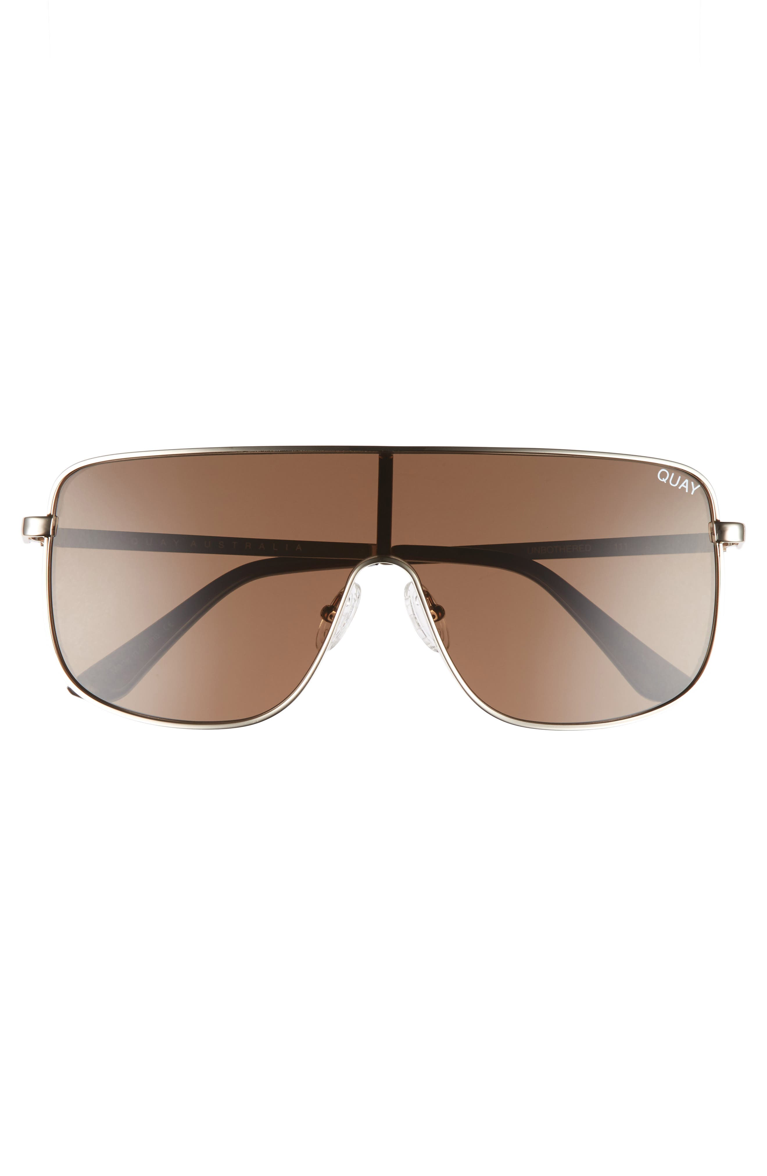 Unbothered 68mm Shield Sunglasses,                             Alternate thumbnail 6, color,