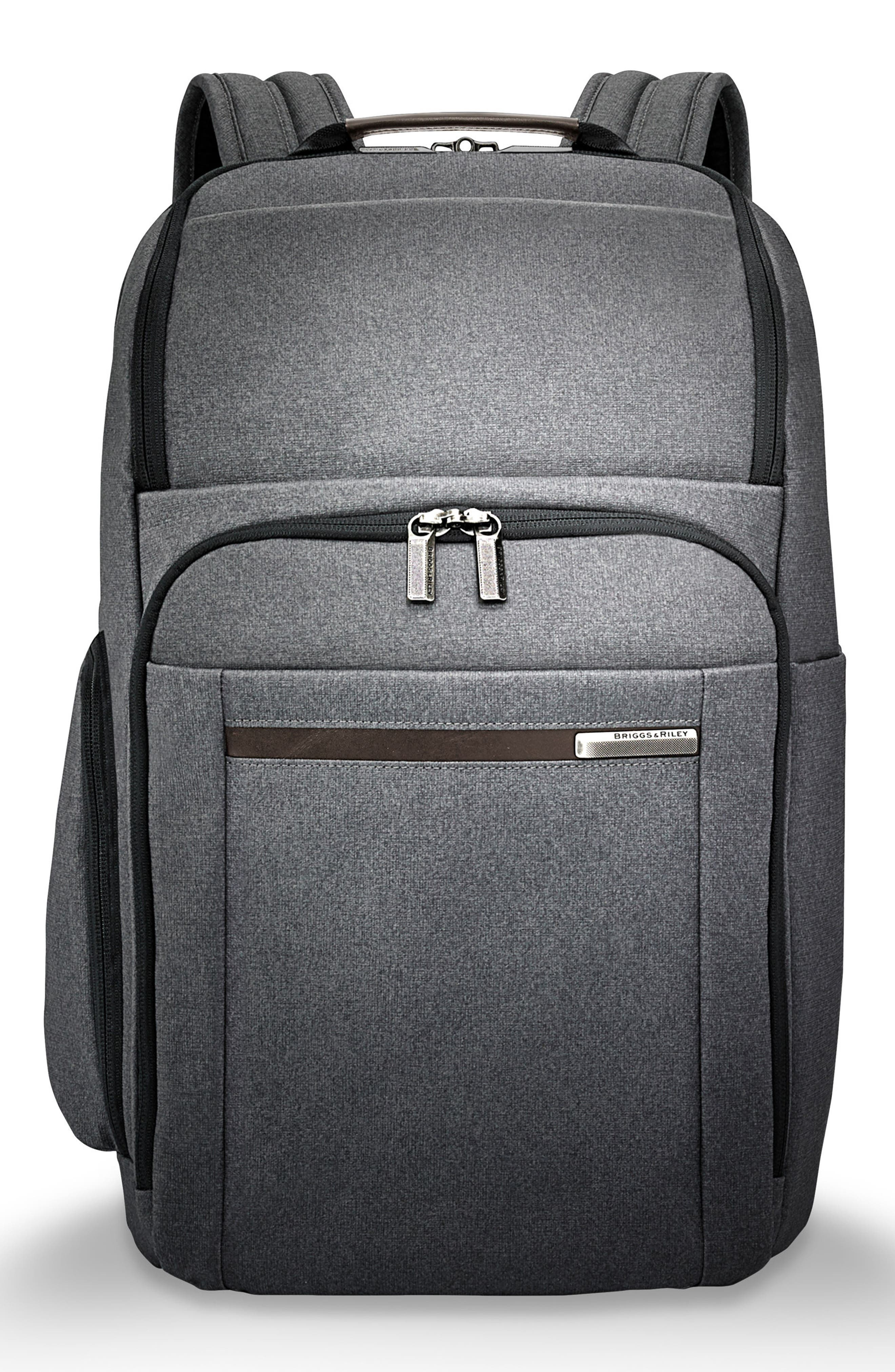 Kinzie Street Backpack,                         Main,                         color, GREY