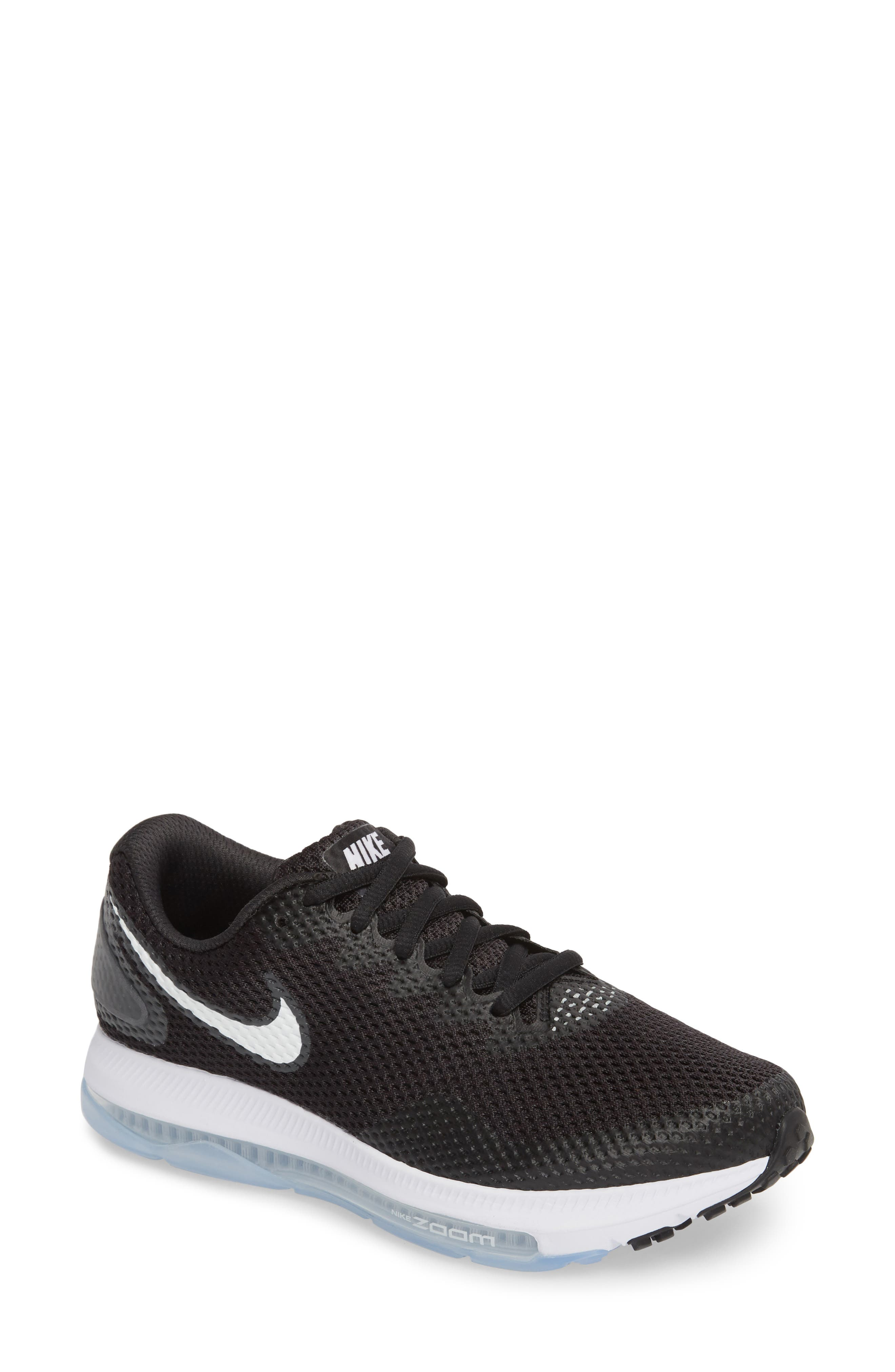 Zoom All Out Low 2 Running Shoe,                             Main thumbnail 1, color,                             BLACK/ WHITE/ ANTHRACITE