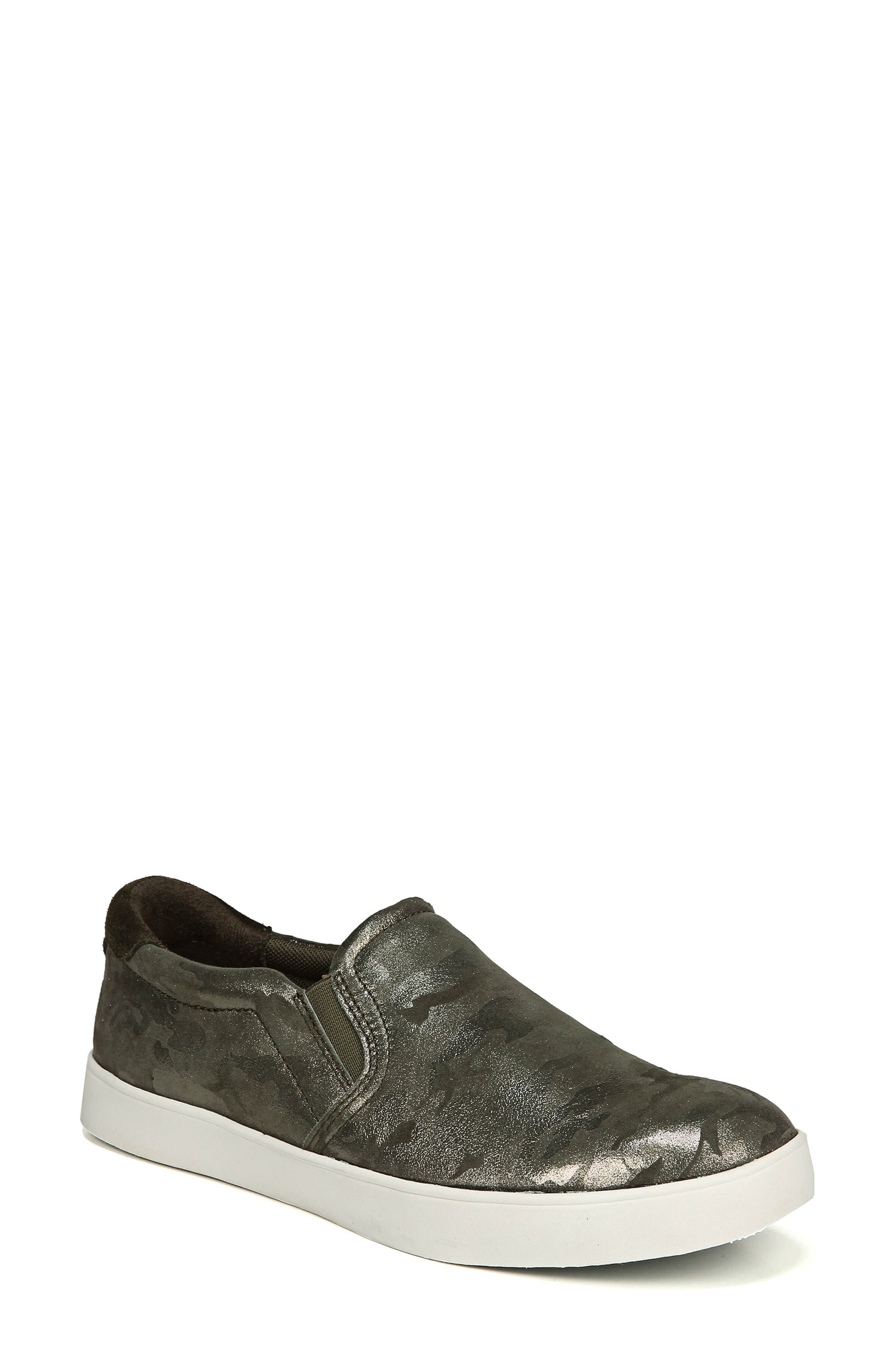 Original Collection 'Scout' Slip On Sneaker,                         Main,                         color, GREEN LEATHER