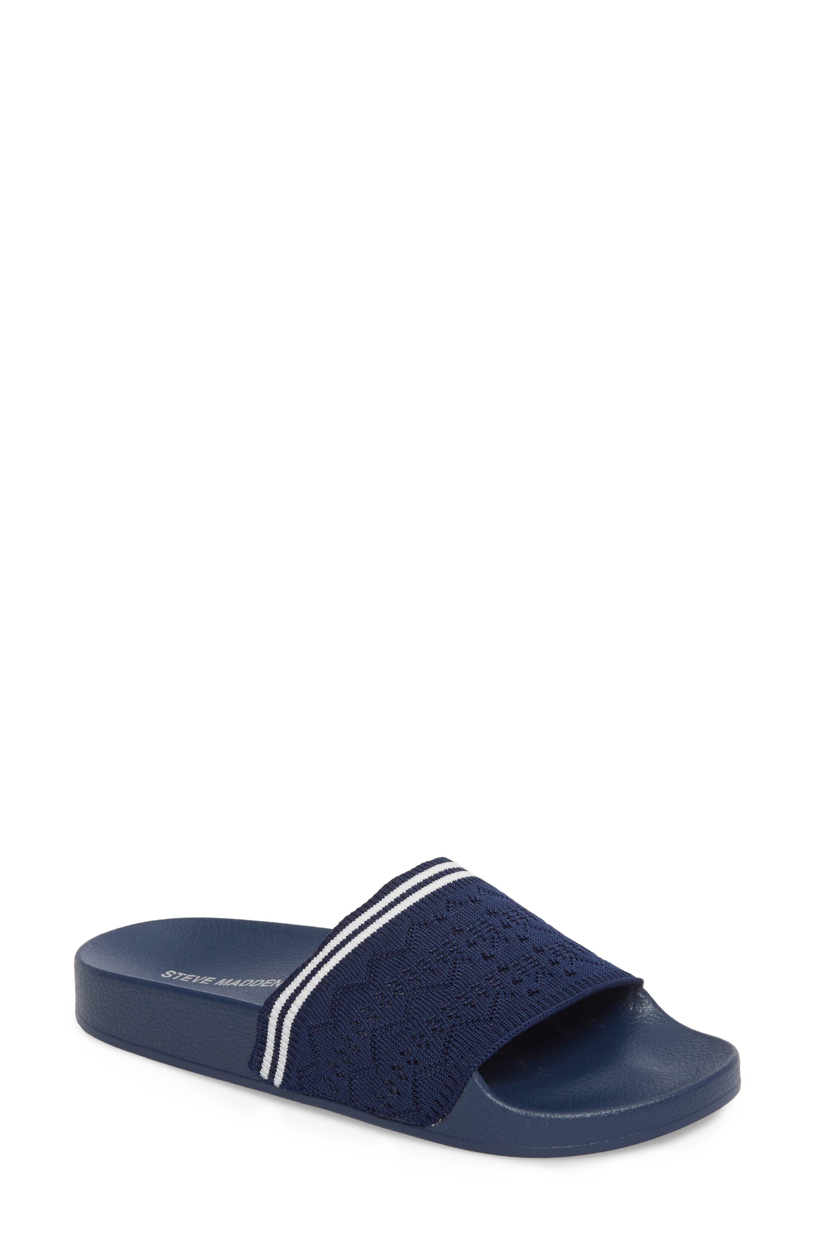 Vibe Sock Knit Slide Sandal,                             Main thumbnail 3, color,