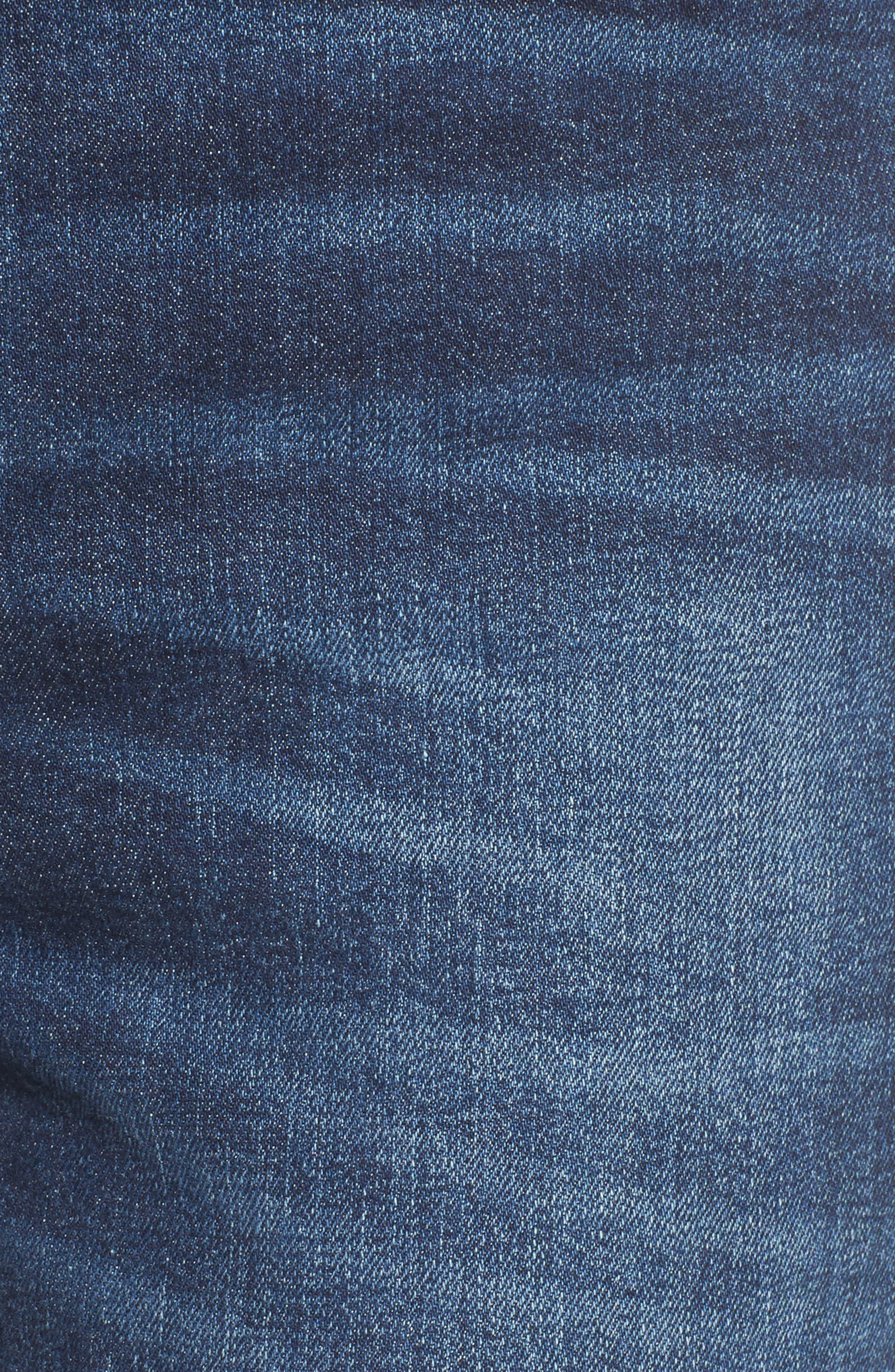 Roxanne Super High Rise Skinny Jeans,                             Alternate thumbnail 6, color,