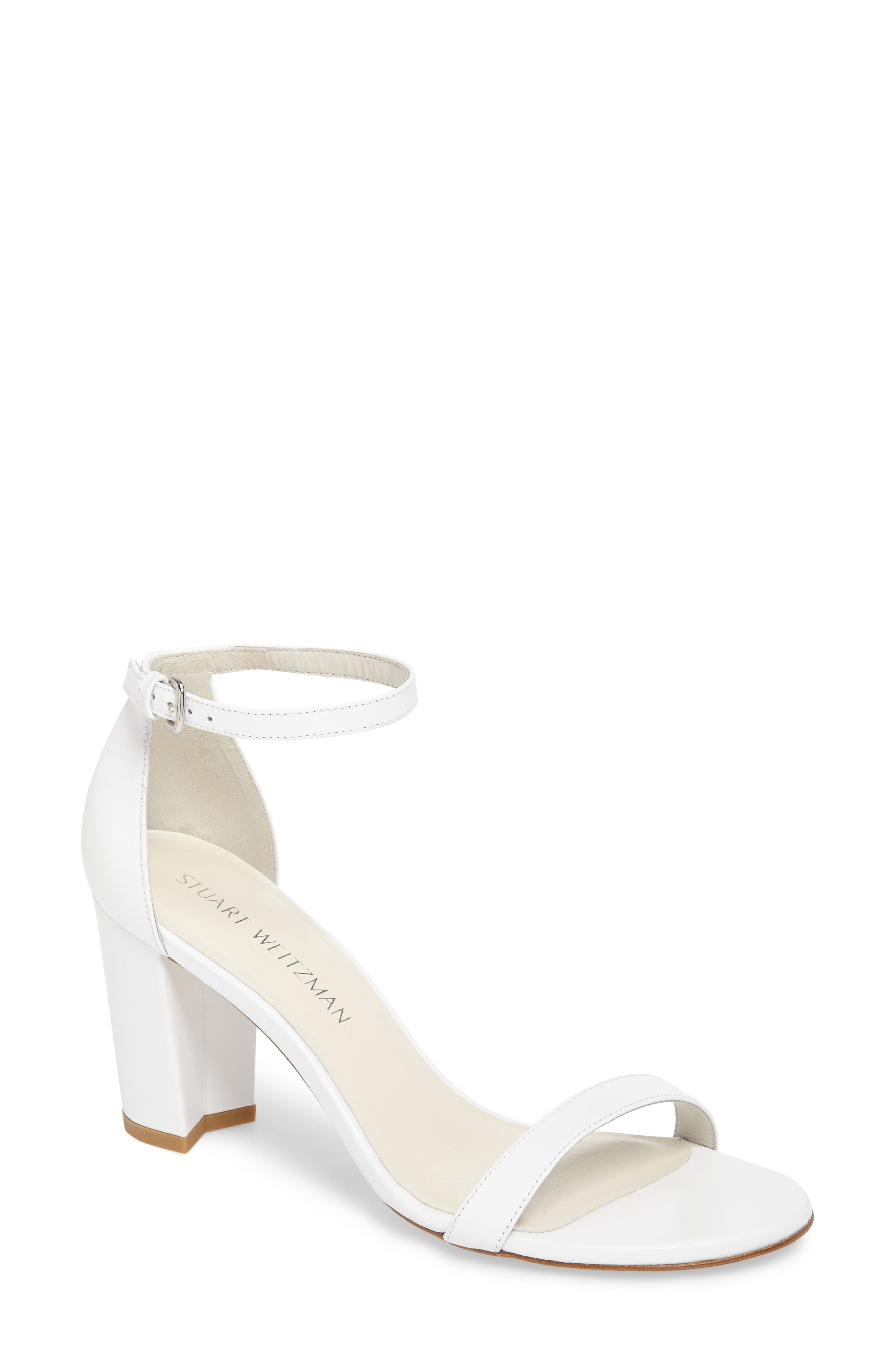 NearlyNude Ankle Strap Sandal,                             Main thumbnail 2, color,
