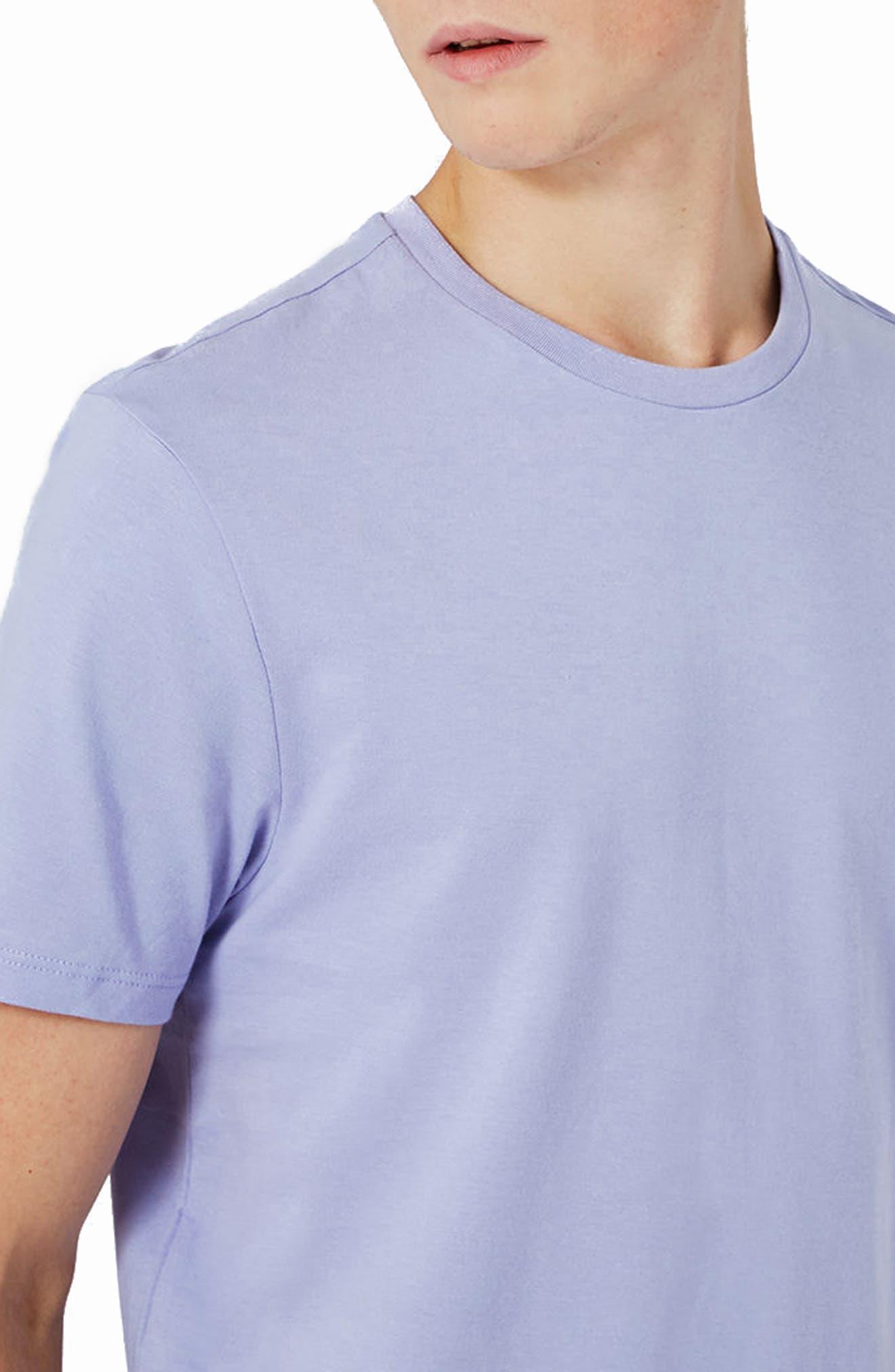 Slim Fit Crewneck T-Shirt,                             Alternate thumbnail 210, color,