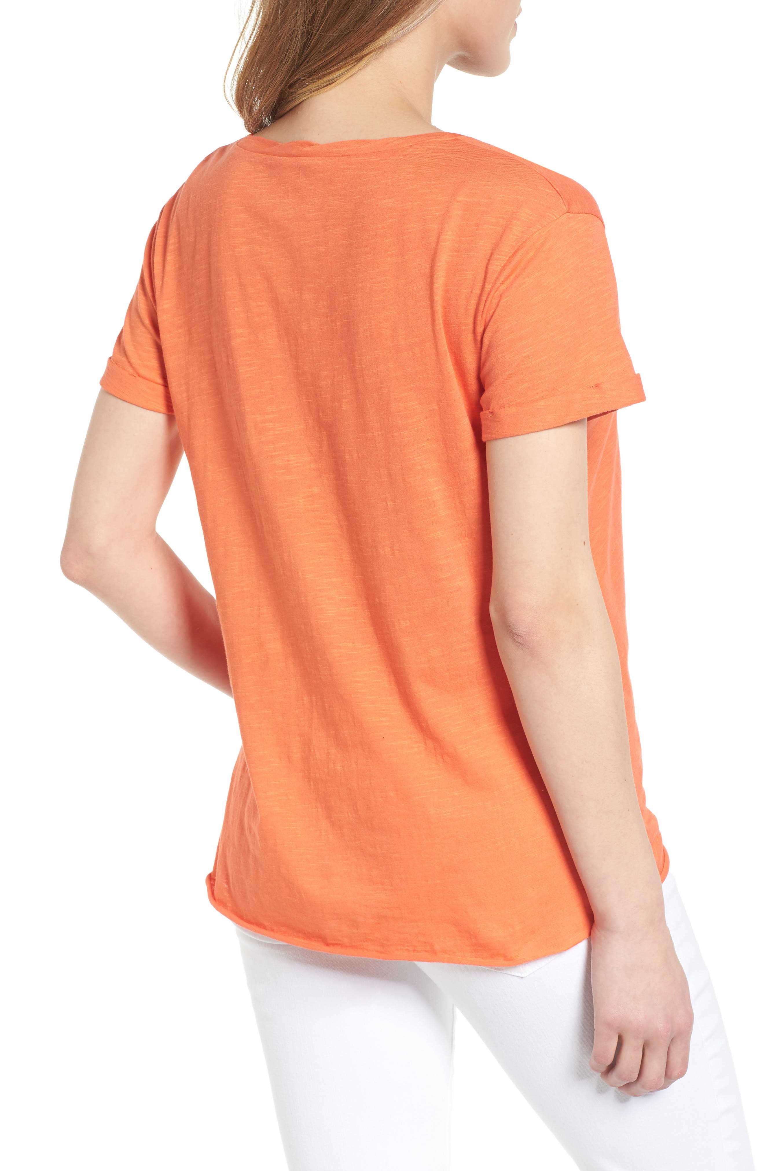 Knotted Tee,                             Alternate thumbnail 14, color,