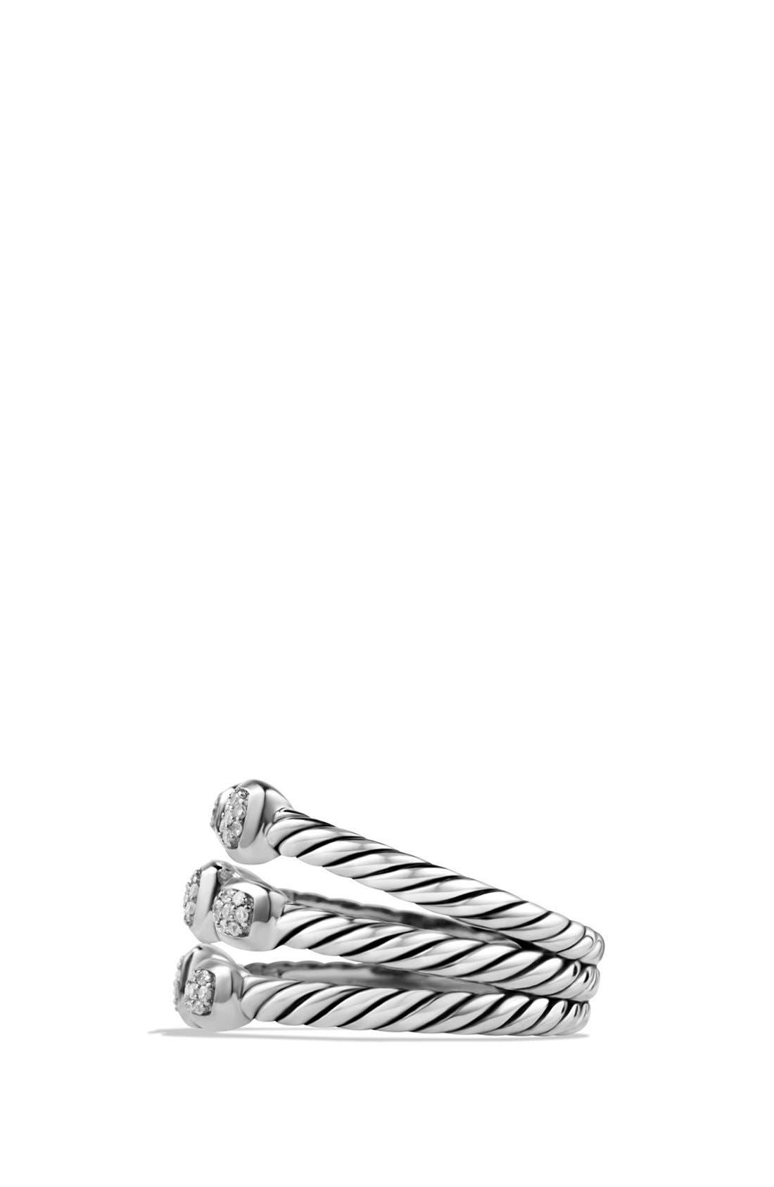 'Confetti' Ring with Diamonds,                             Alternate thumbnail 4, color,                             DIAMOND