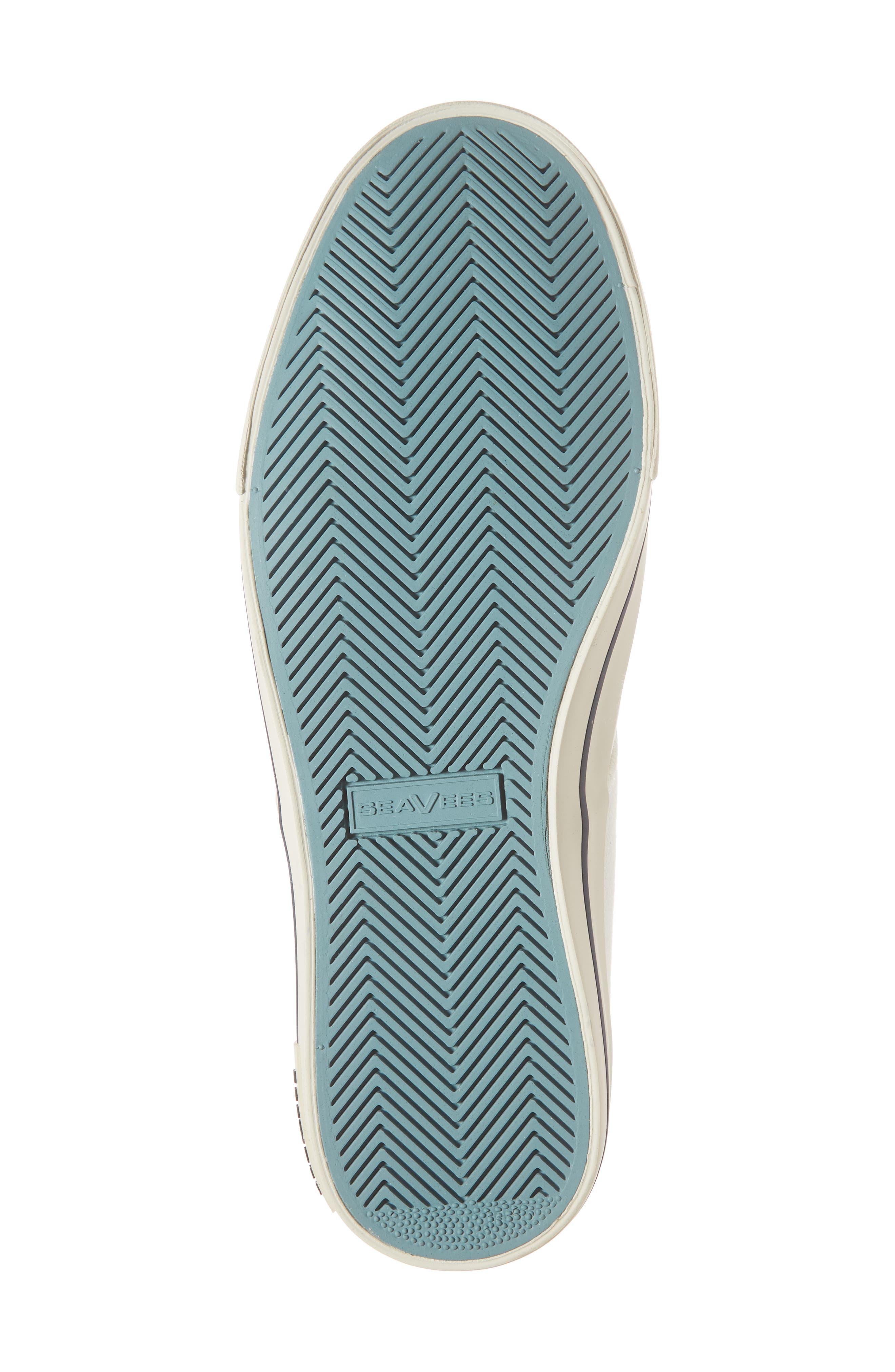 Hermosa Plimsoll Sneaker,                             Alternate thumbnail 6, color,                             BLEACH WHITE