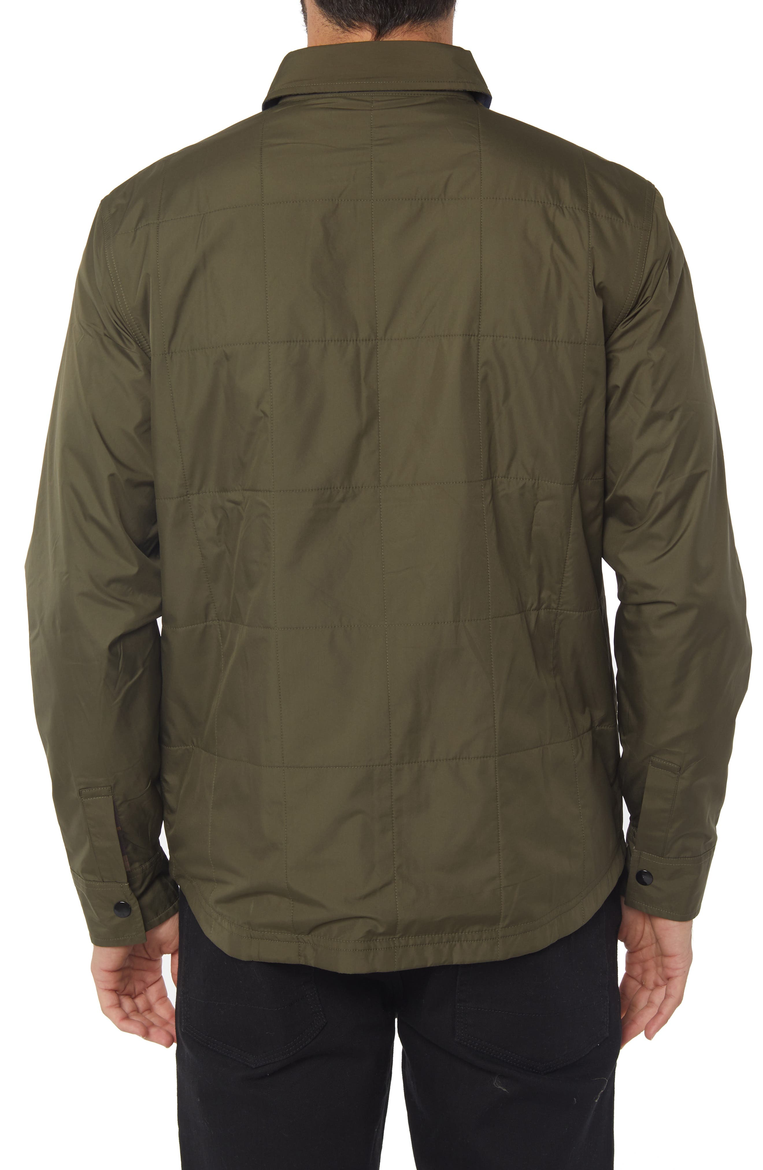The Mick Jacket,                             Alternate thumbnail 2, color,                             MILITARY GREEN
