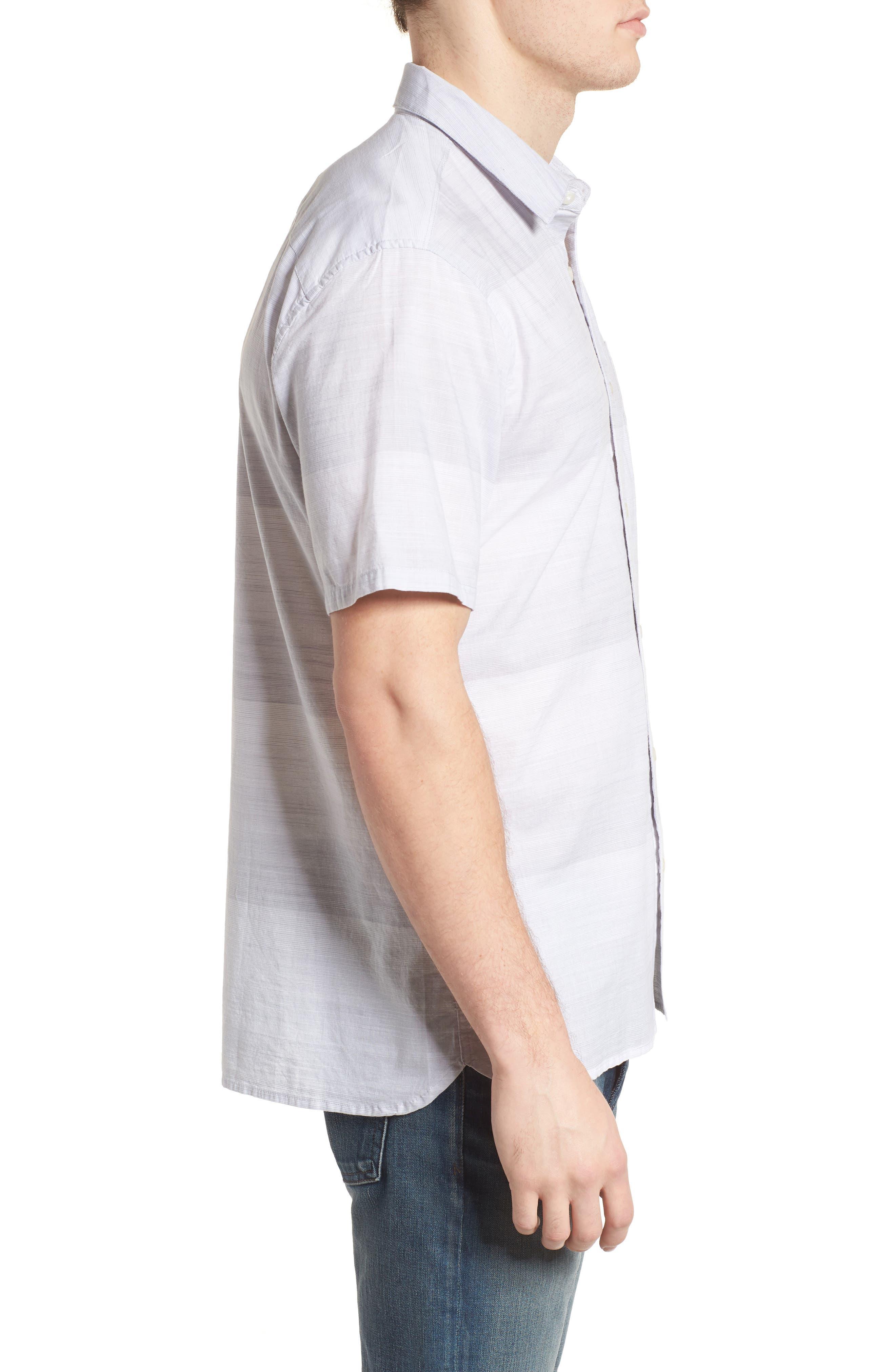 Morris Shirt,                             Alternate thumbnail 3, color,                             WOLF GREY